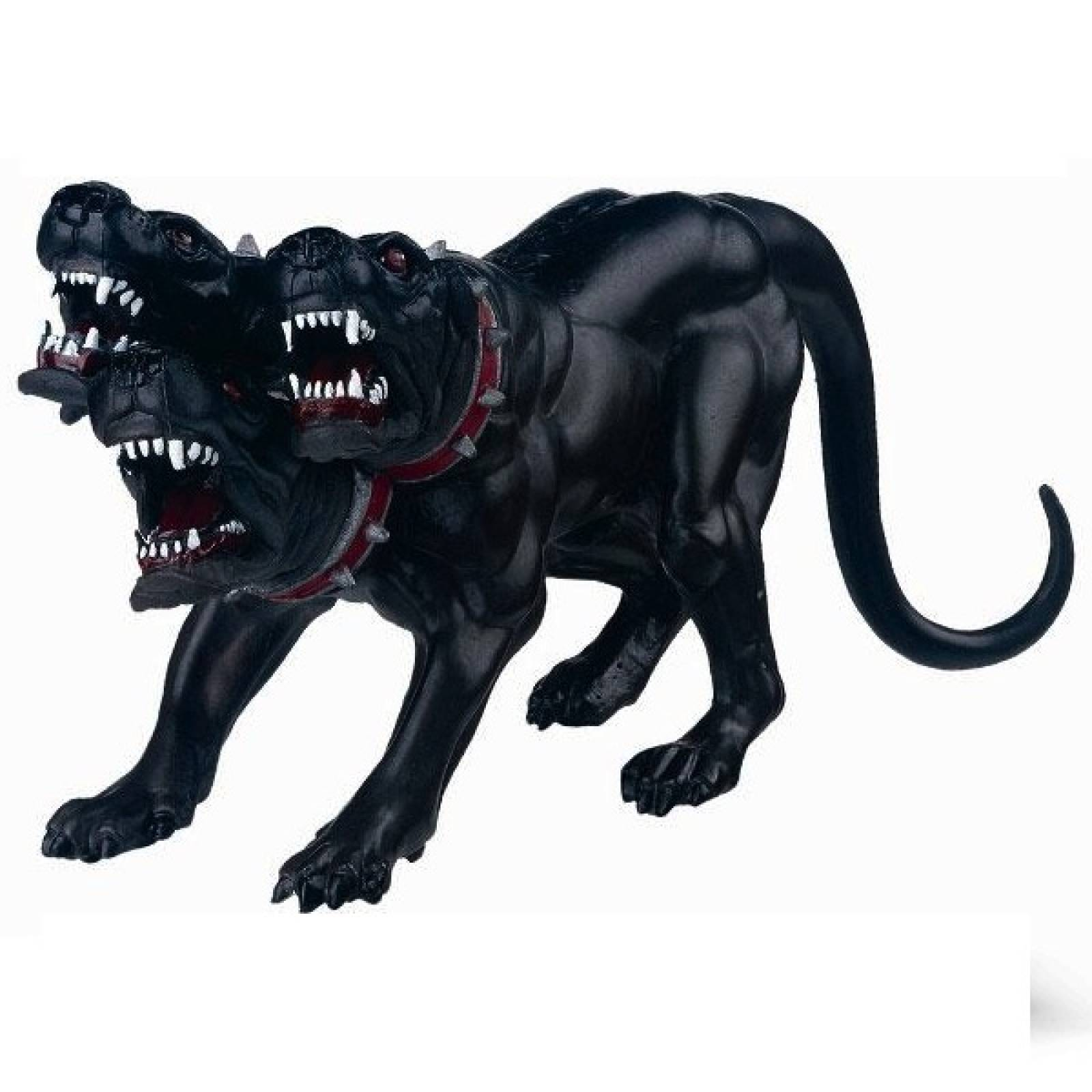 CERBERUS 3 Headed Dog Papo Fantasy Figure