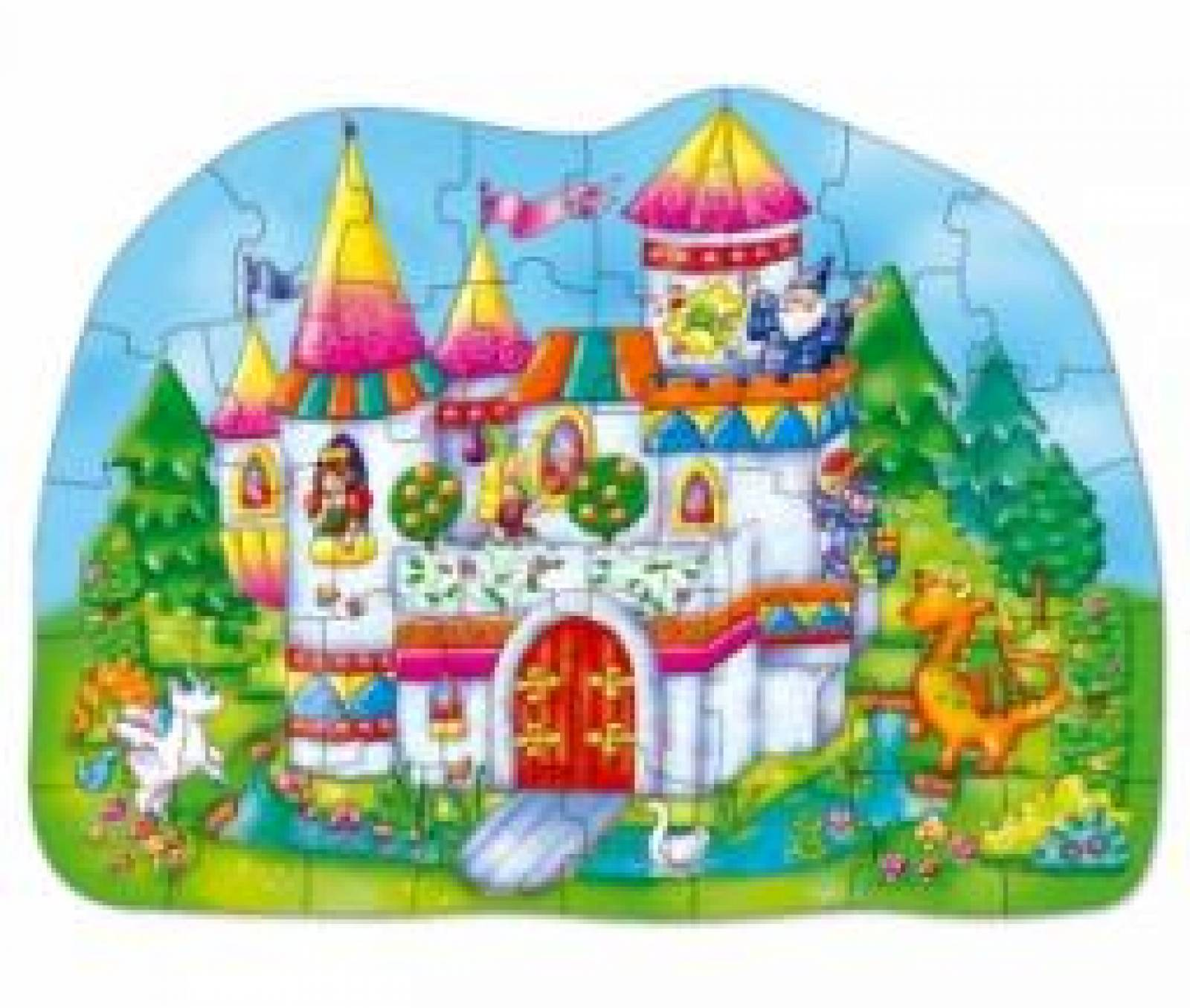 Big Magical Castle Puzzle Jigsaw By Orchard Toys 3-6yrs thumbnails