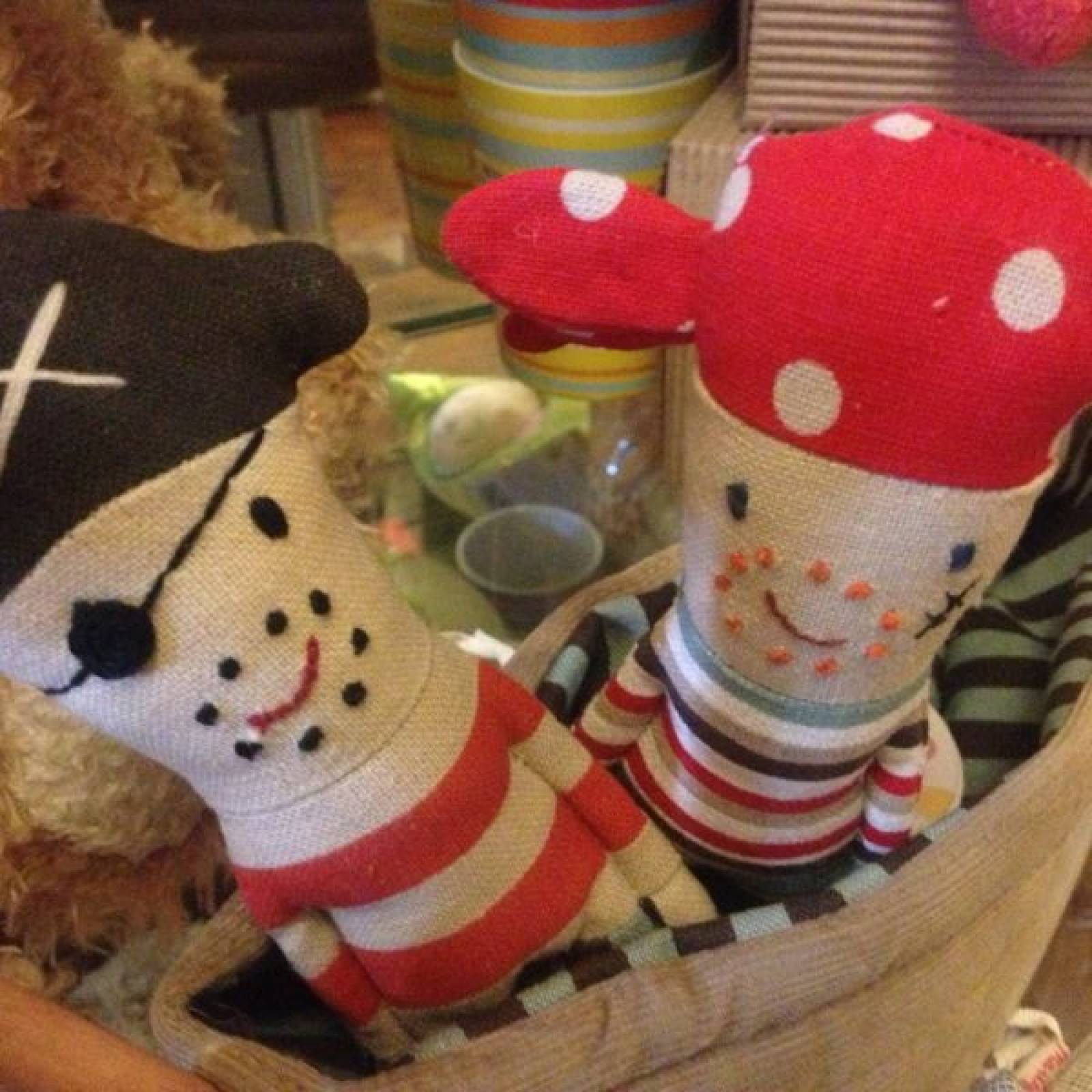 Pirate Rattles Pirate Ship and Shark