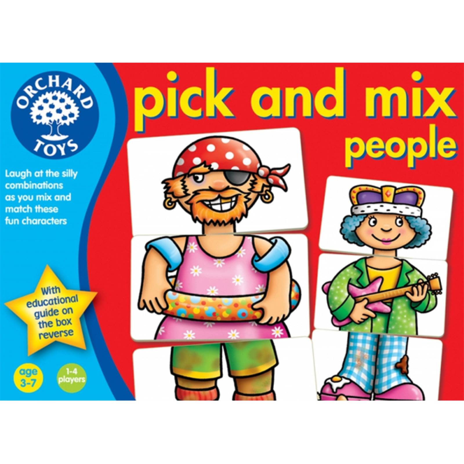 Pick And Mix People Ages: 3-7 Game By Orchard 5-9yrs