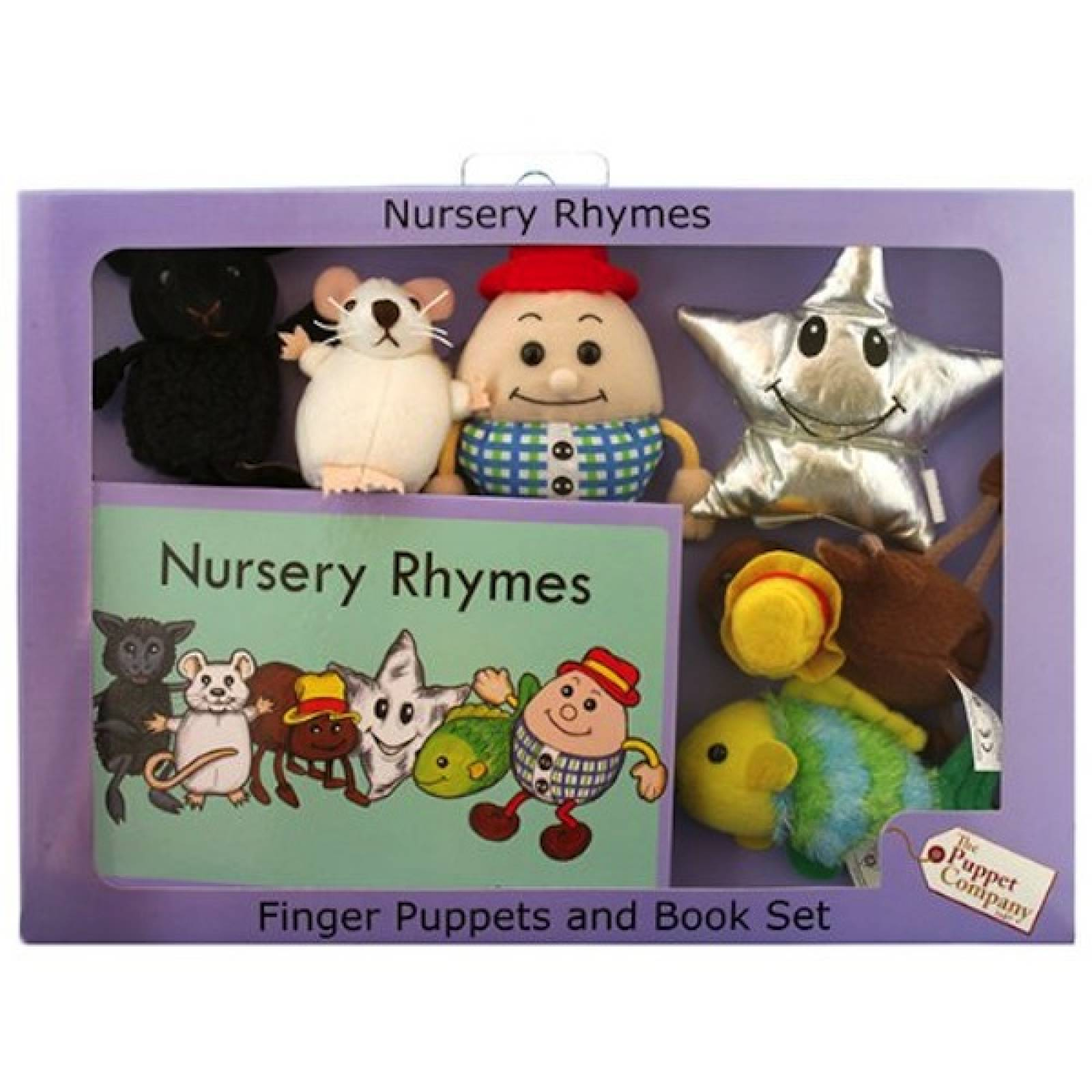 Nursery Rhymes Storytime Finger Puppet Set thumbnails