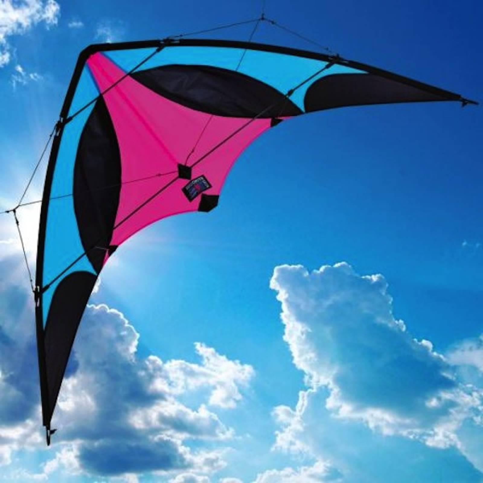 Silverline Dual Line Sports Kite (H)94cm x (W)183cm