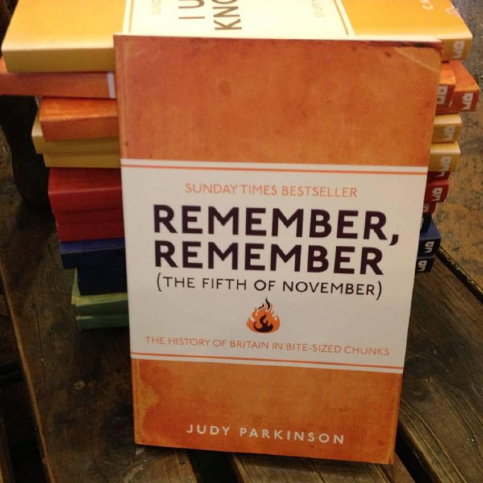 Remember Remember Paperback Book