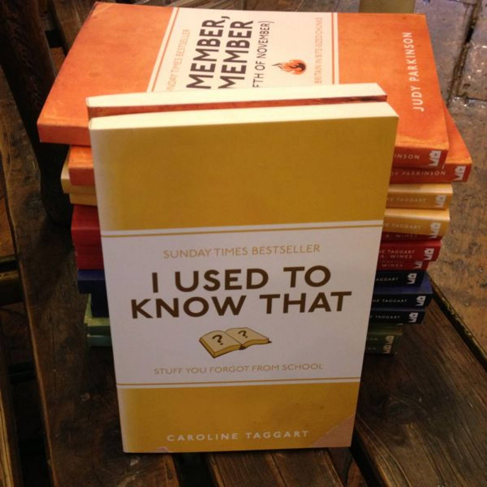 I Used To Know That Paperback Book