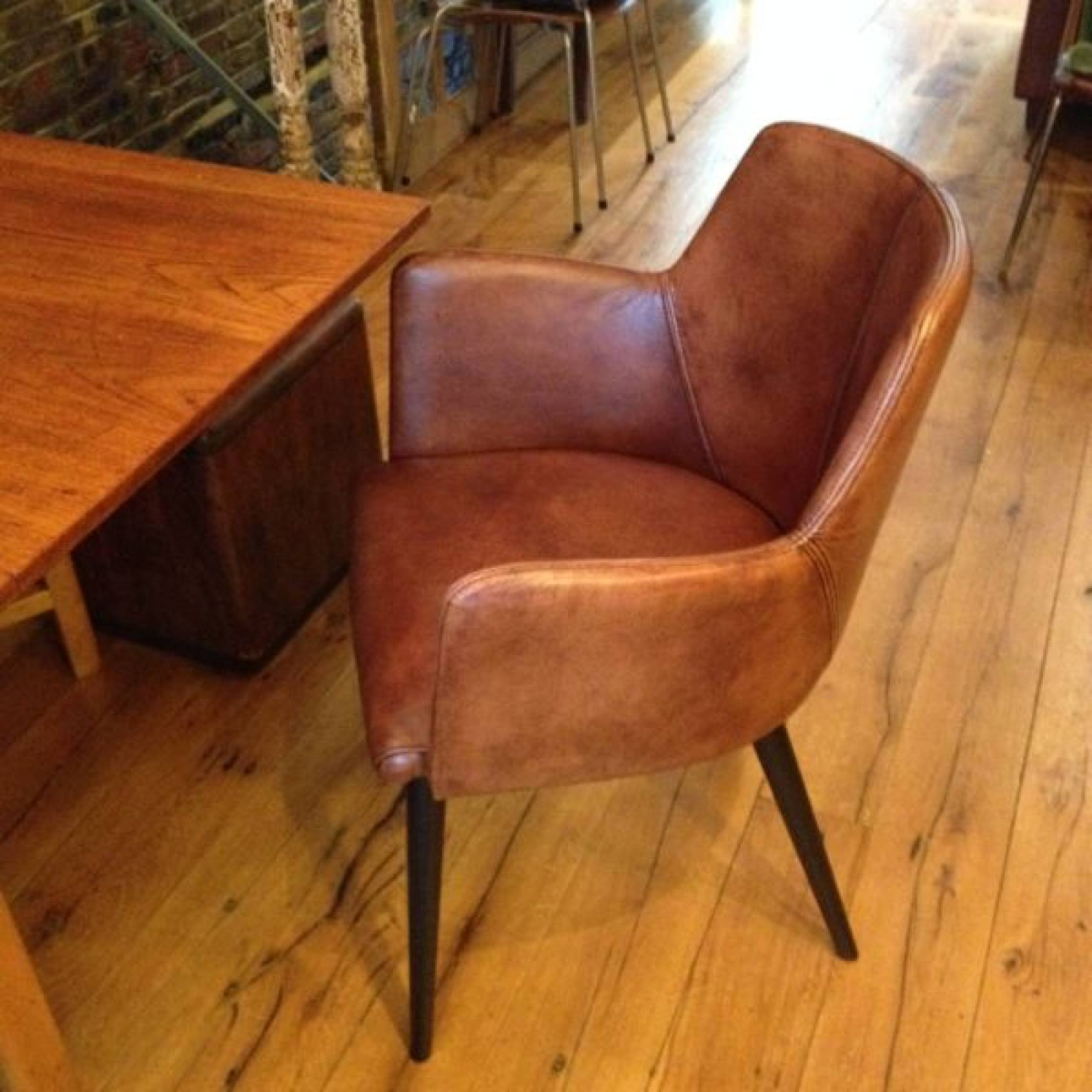 Islington Leather Chair Dining/ Desk/ Office thumbnails