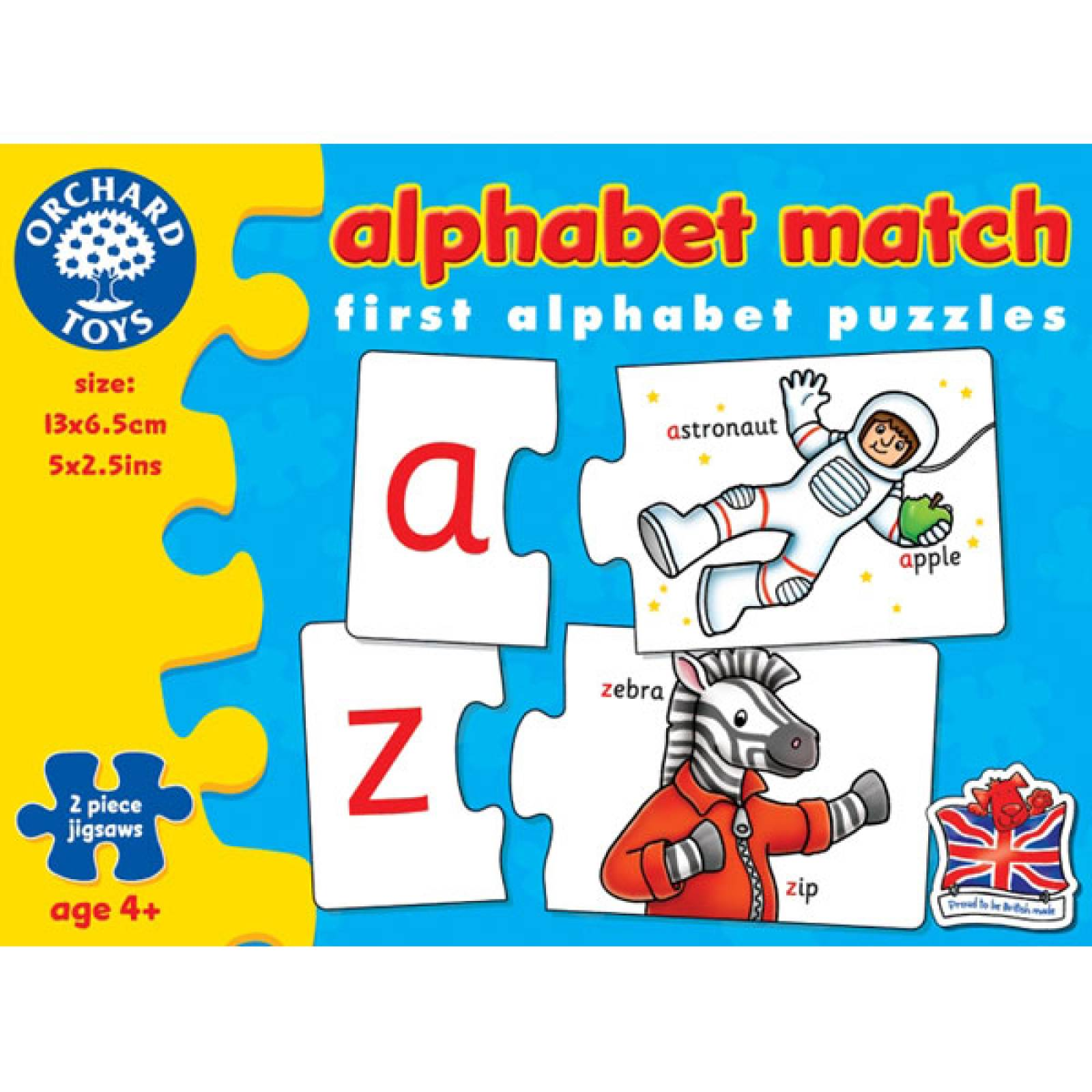 Alphabet Match Game by Orchard 4yr+