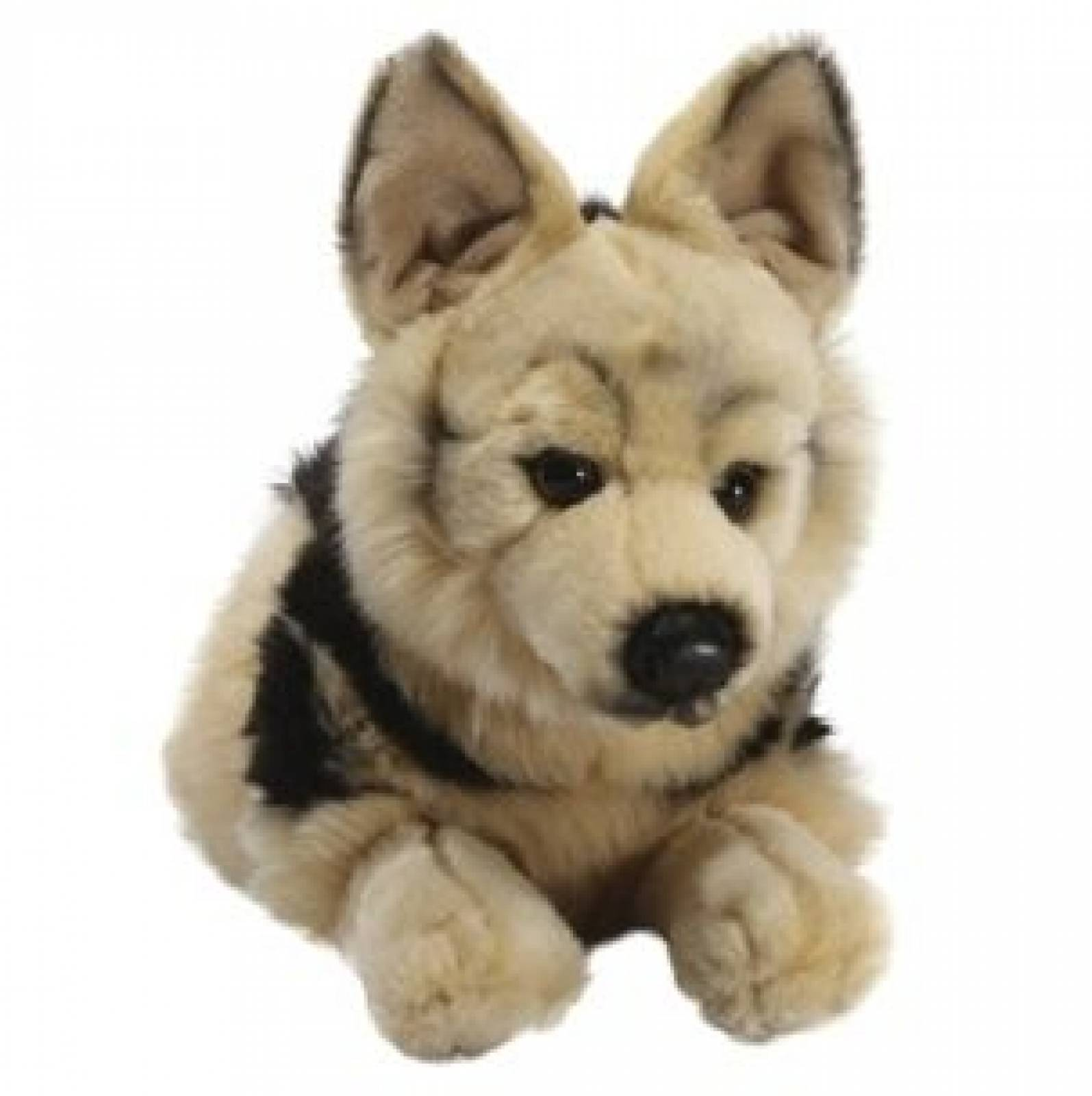 German Shepherd Soft Toy Dog. 0+yrs