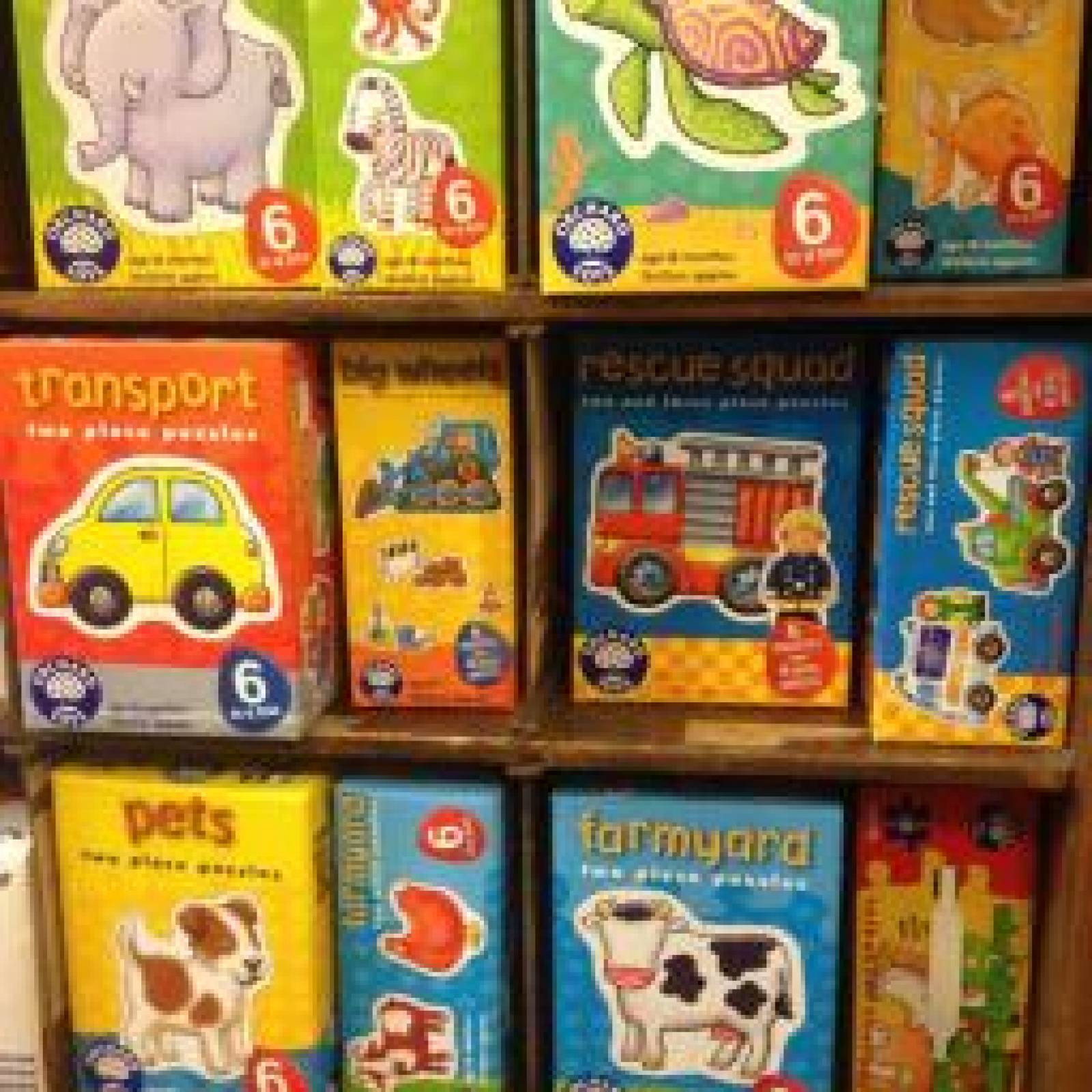 Rescue Squad 6 In A Box Puzzles By Orchard - 18mth+ thumbnails