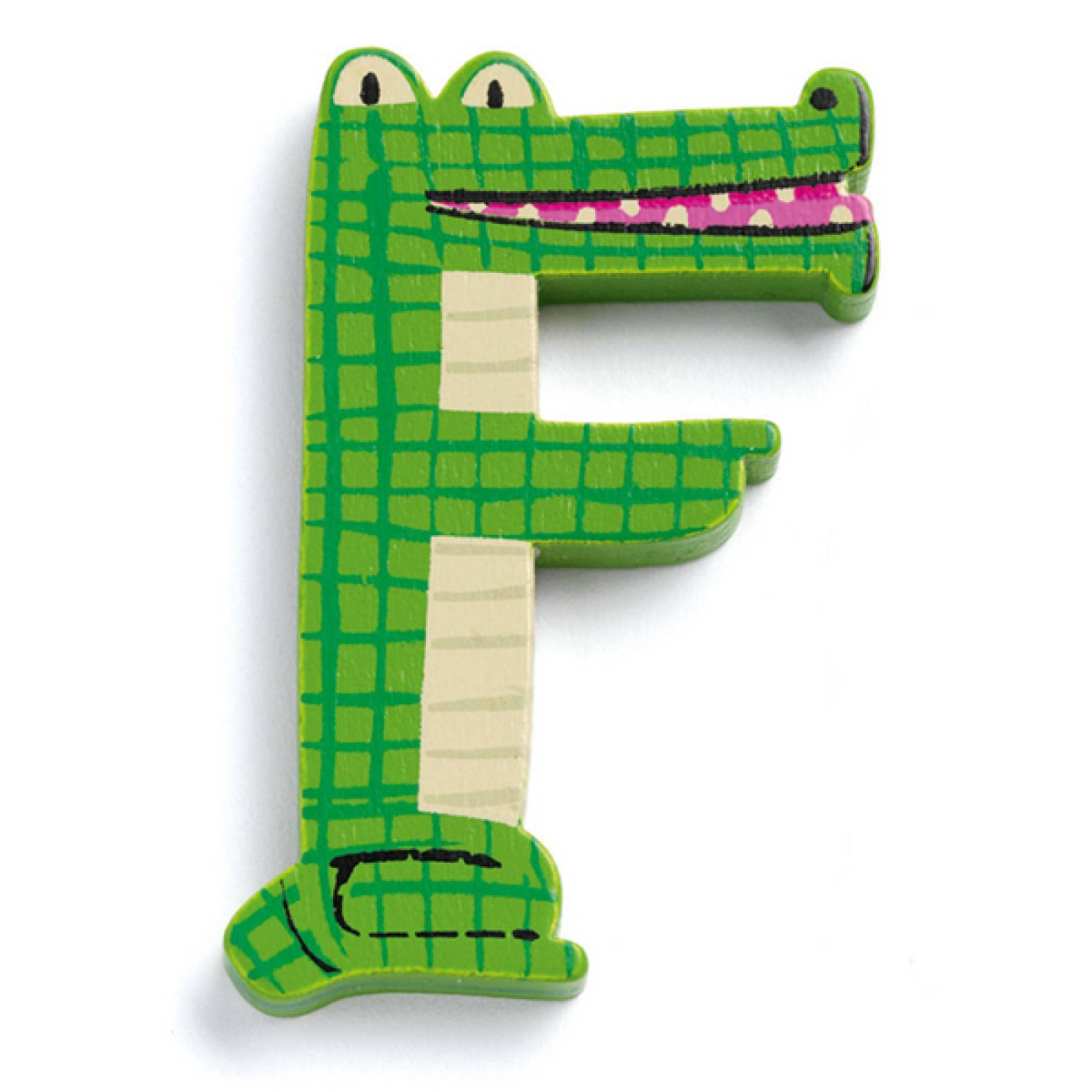 LETTER F- DJECO Animal Letter Decorative Alphabet Letter thumbnails