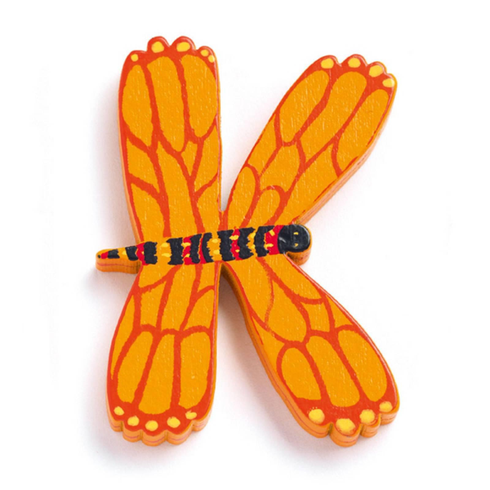 LETTER K - DJECO Animal Letter Decorative Alphabet Letter
