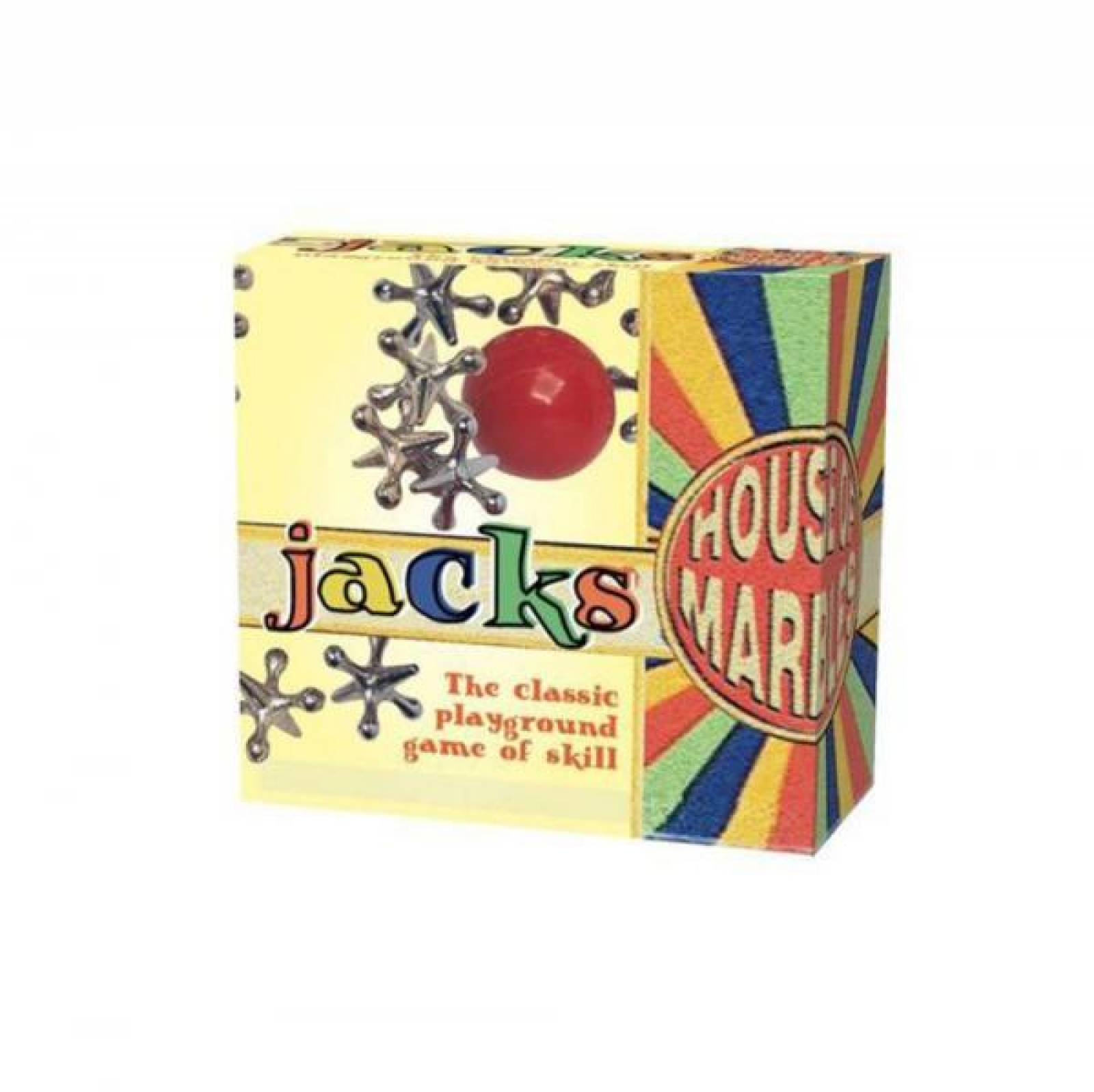 Little Box Of Jacks (Jacks and Ball in Canvas Bag) In Box