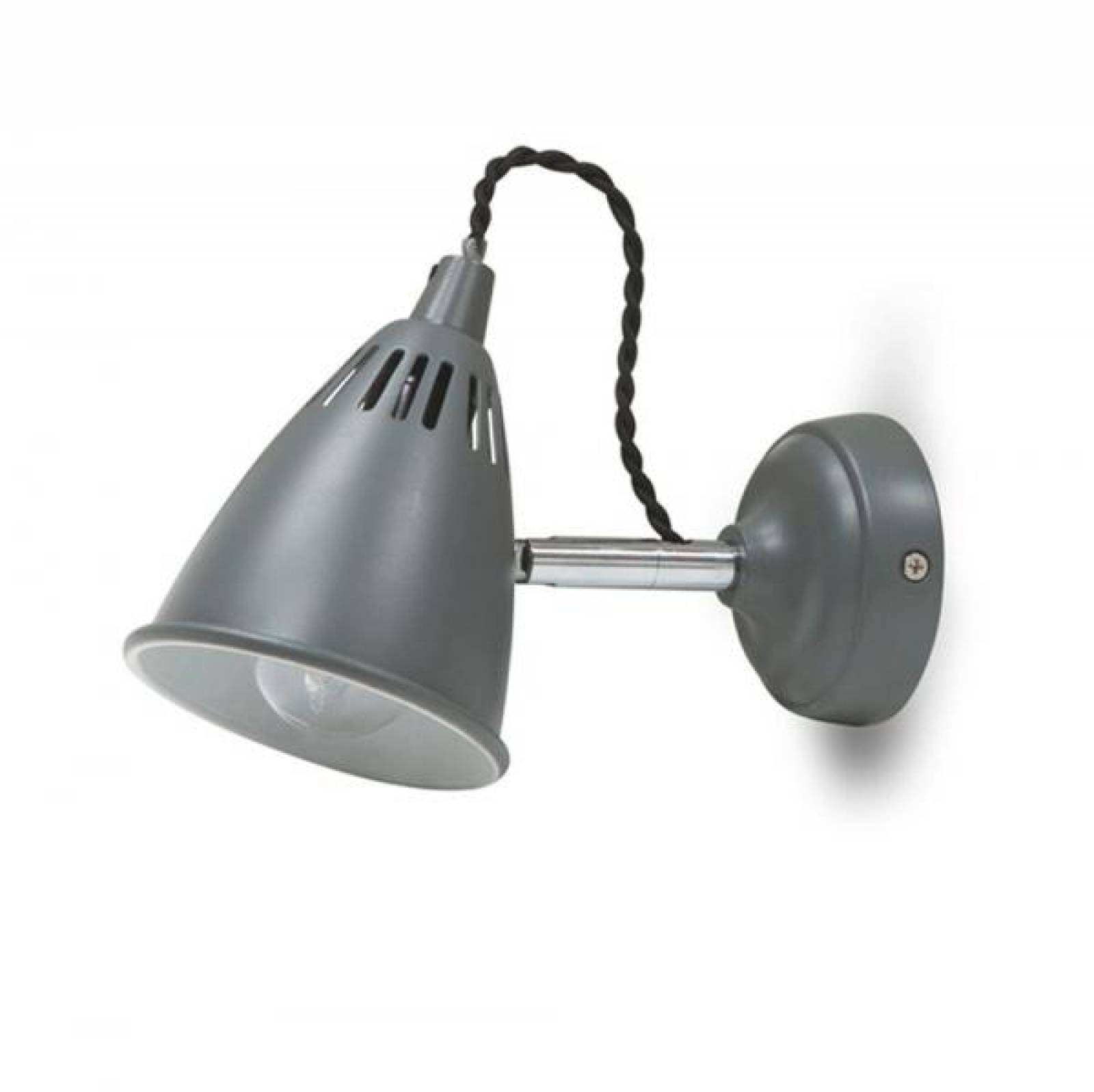 Cavendish Wall Light Lamp Charcoal