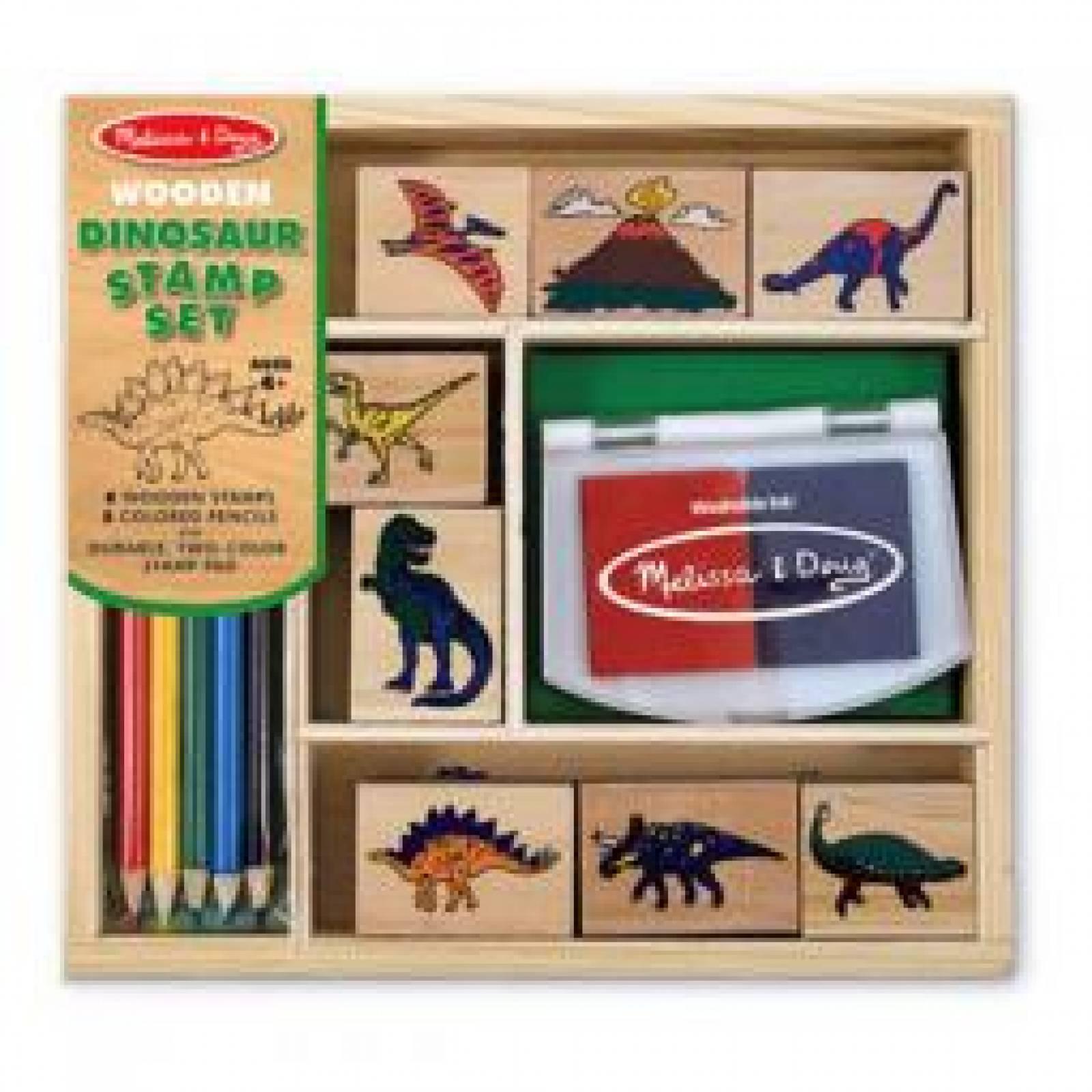 Dinosaur Stamp Set By Melissa + Doug