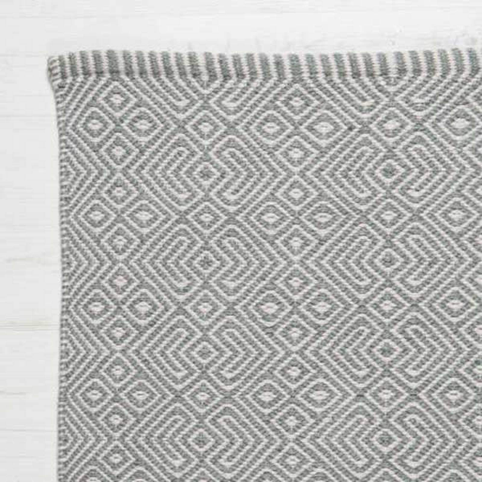 Provence GREY 110x60cm Recycled Bottle Rug thumbnails