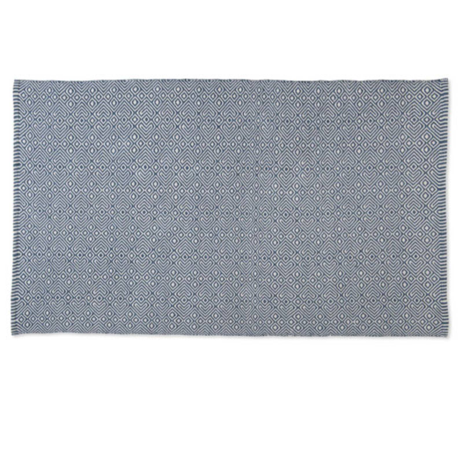 Provence NAVY 180 x 120cm Recycled Bottle Rug thumbnails