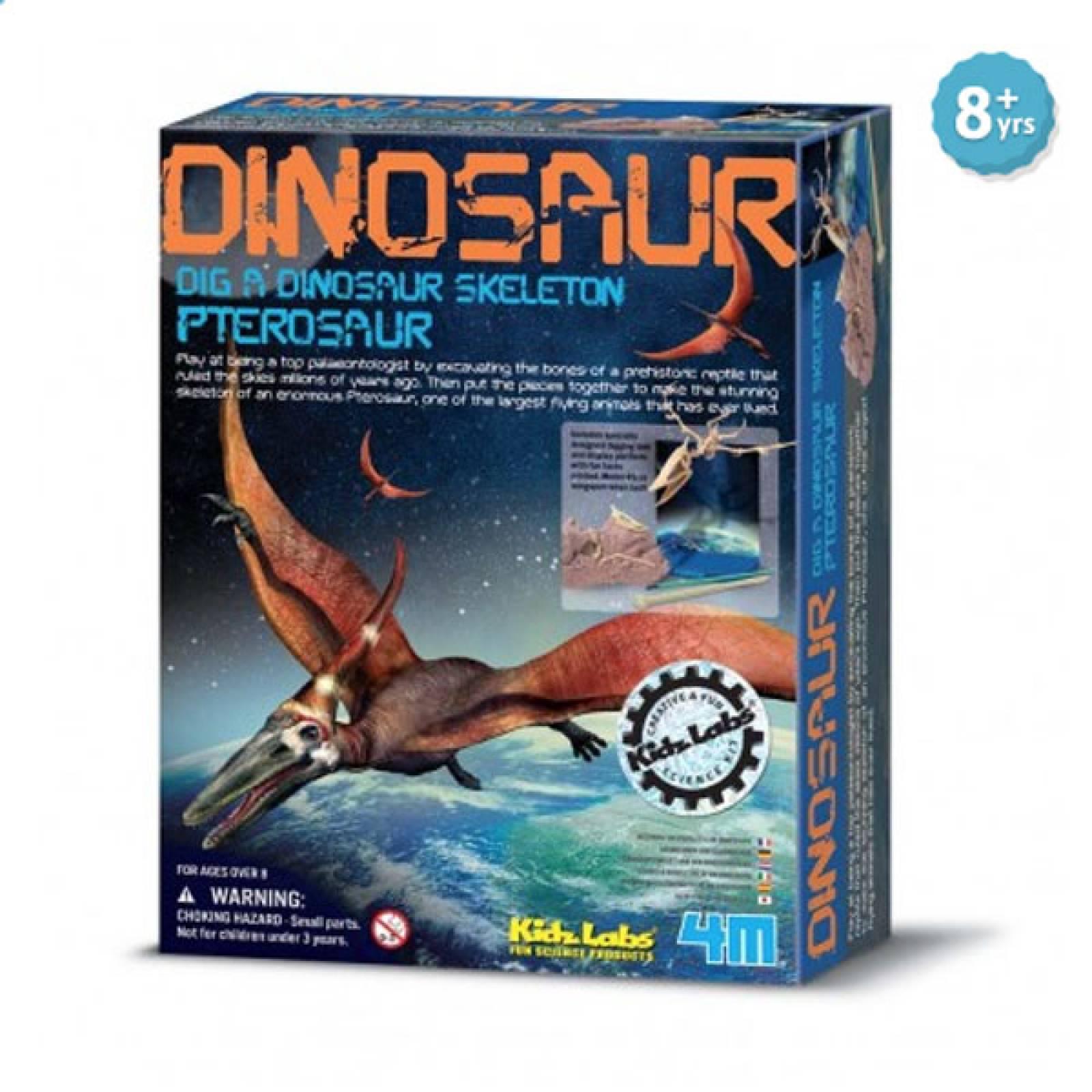 Dig A Pterosaur Skeleton Kit - Kidz Labs 8+