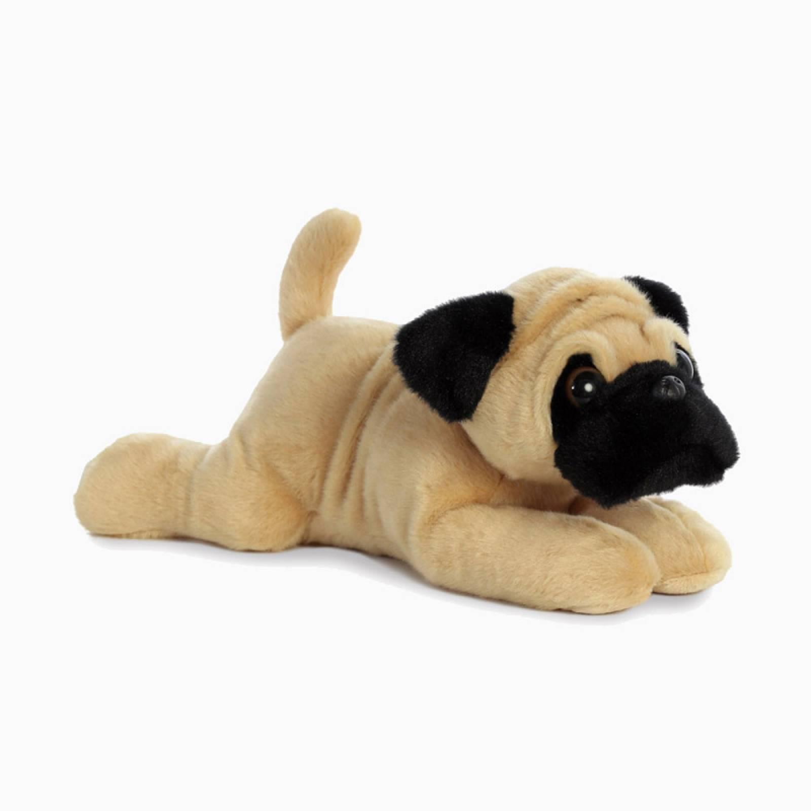 Pug Dog Flopsies Soft Toy 0+