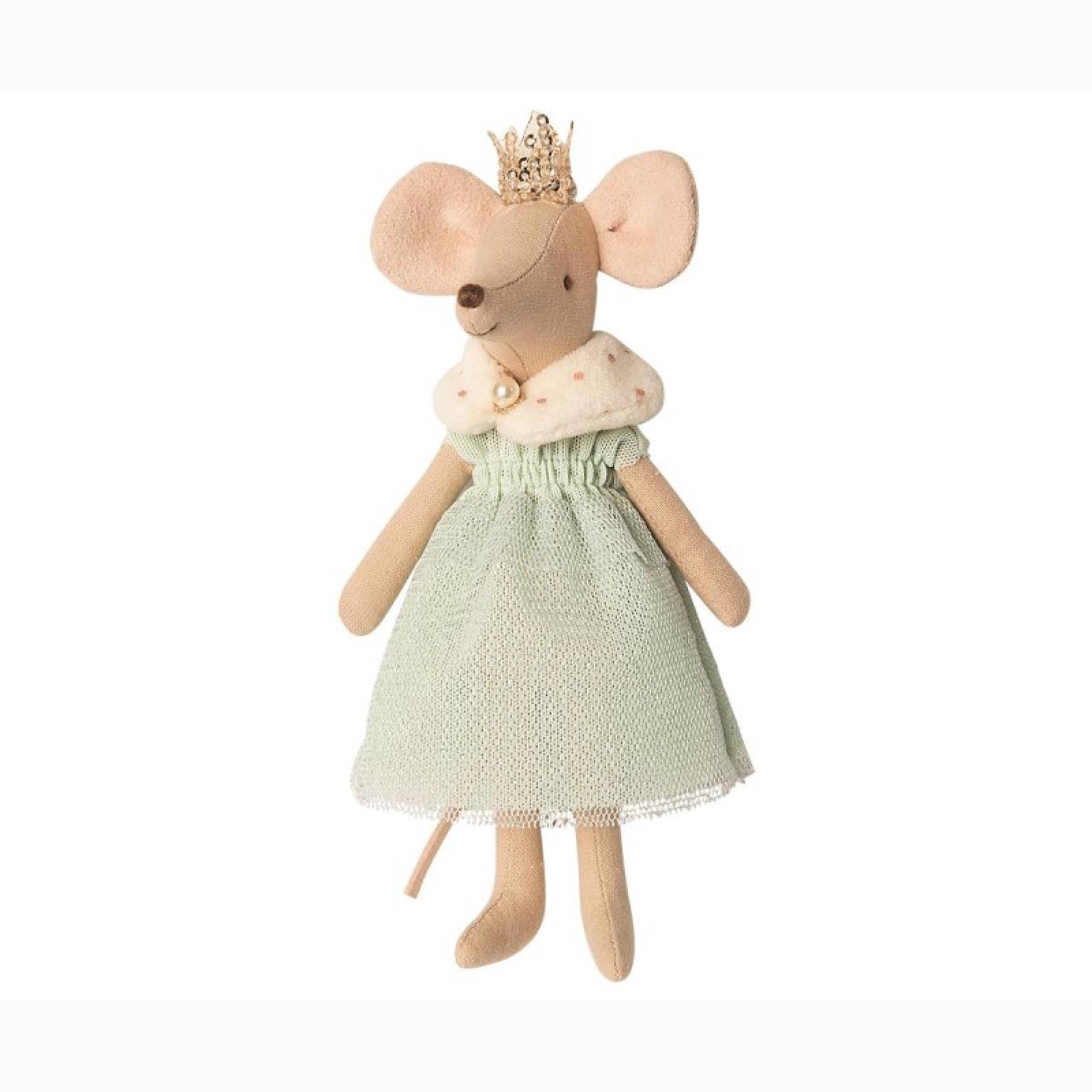 Queen Mouse Soft Toy By Maileg 3+
