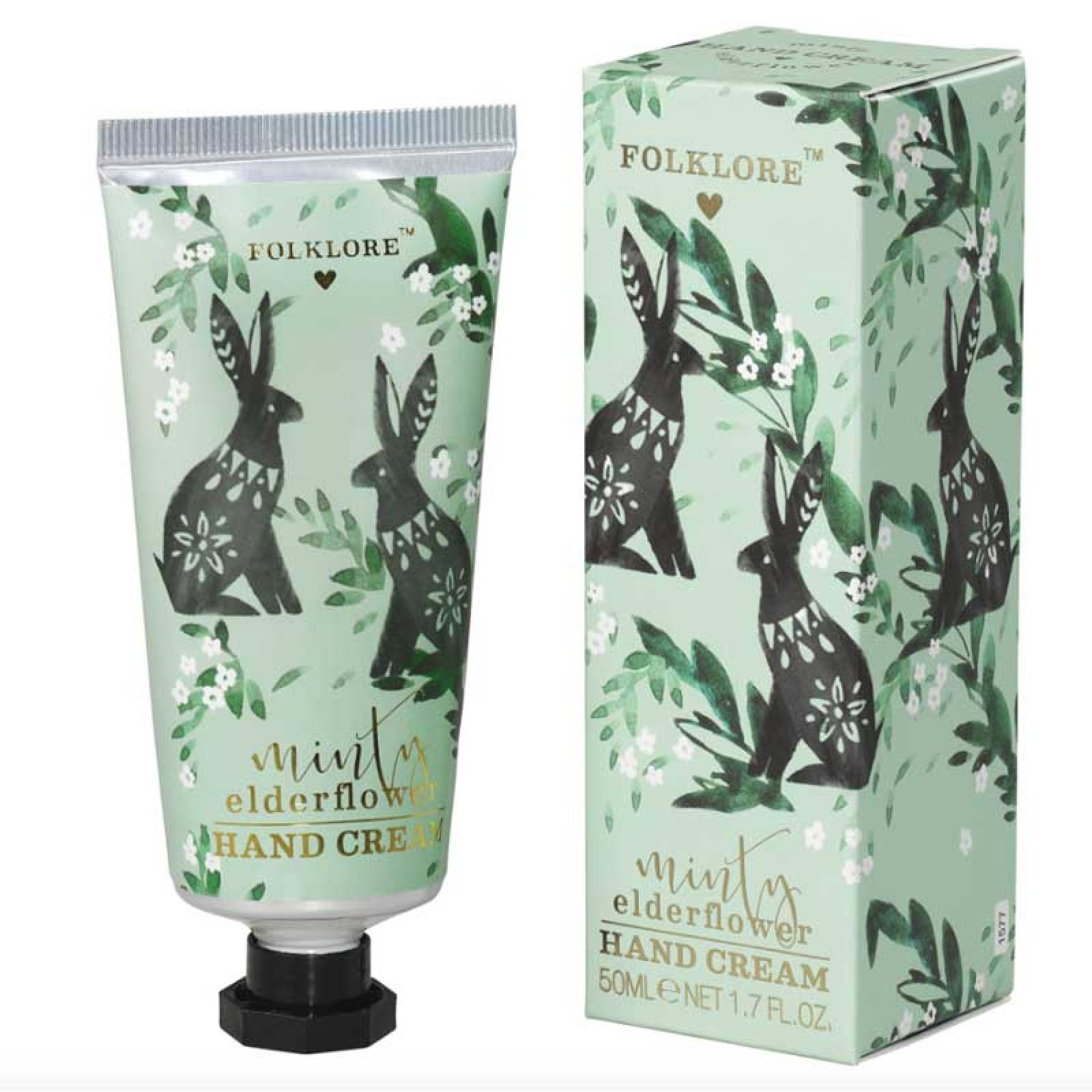 Folklore Rabbit Handcream Minty Elderflower thumbnails