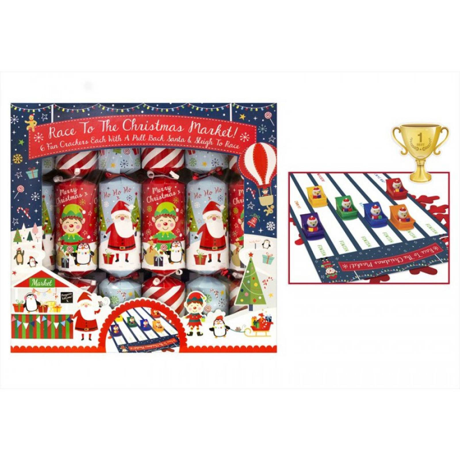 Race To The Christmas Market Crackers thumbnails