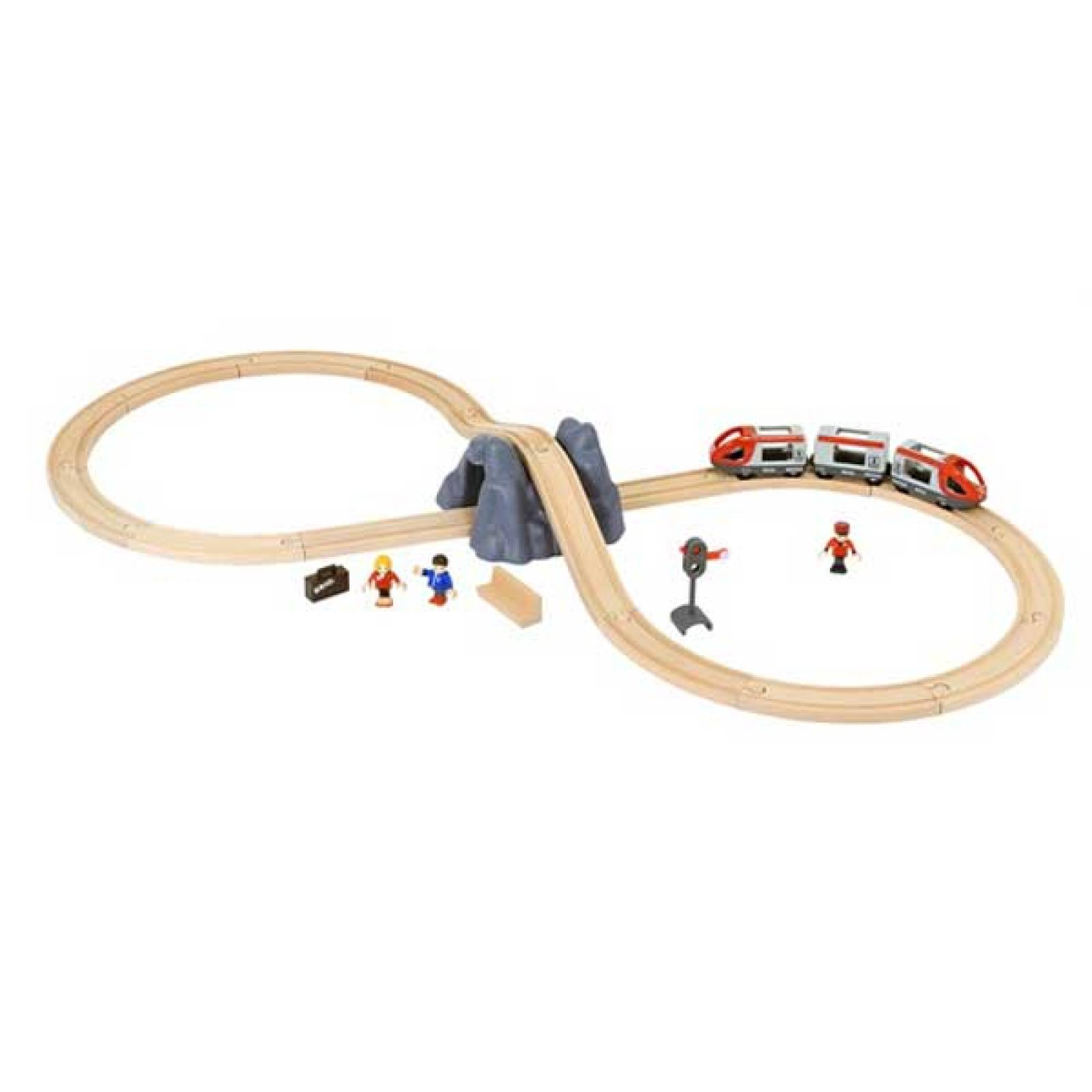 "Railway Starter Set ""A"" BRIO® Wooden Railway Age 3+ thumbnails"