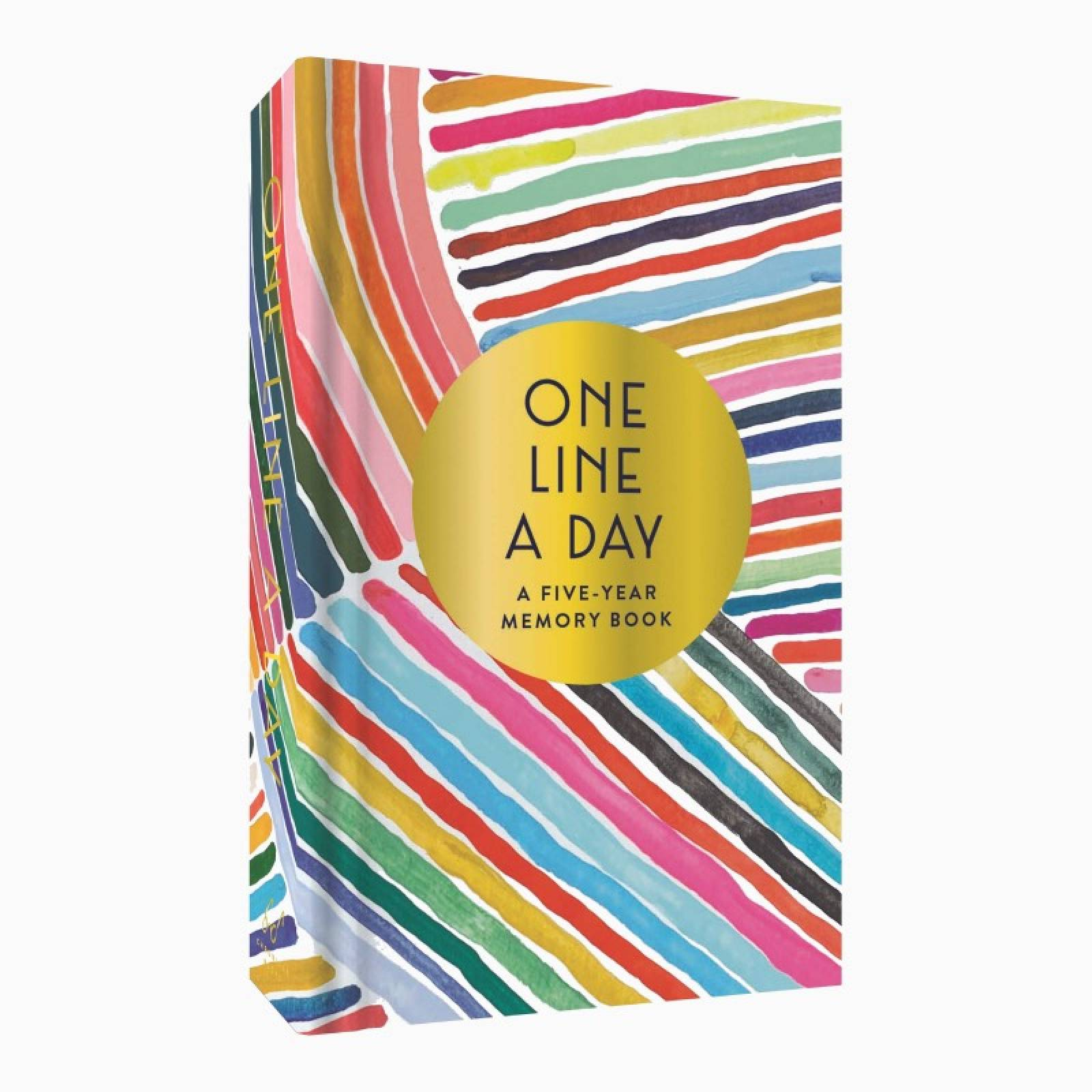 Rainbow One Line A Day: 5 Year Memory Journal
