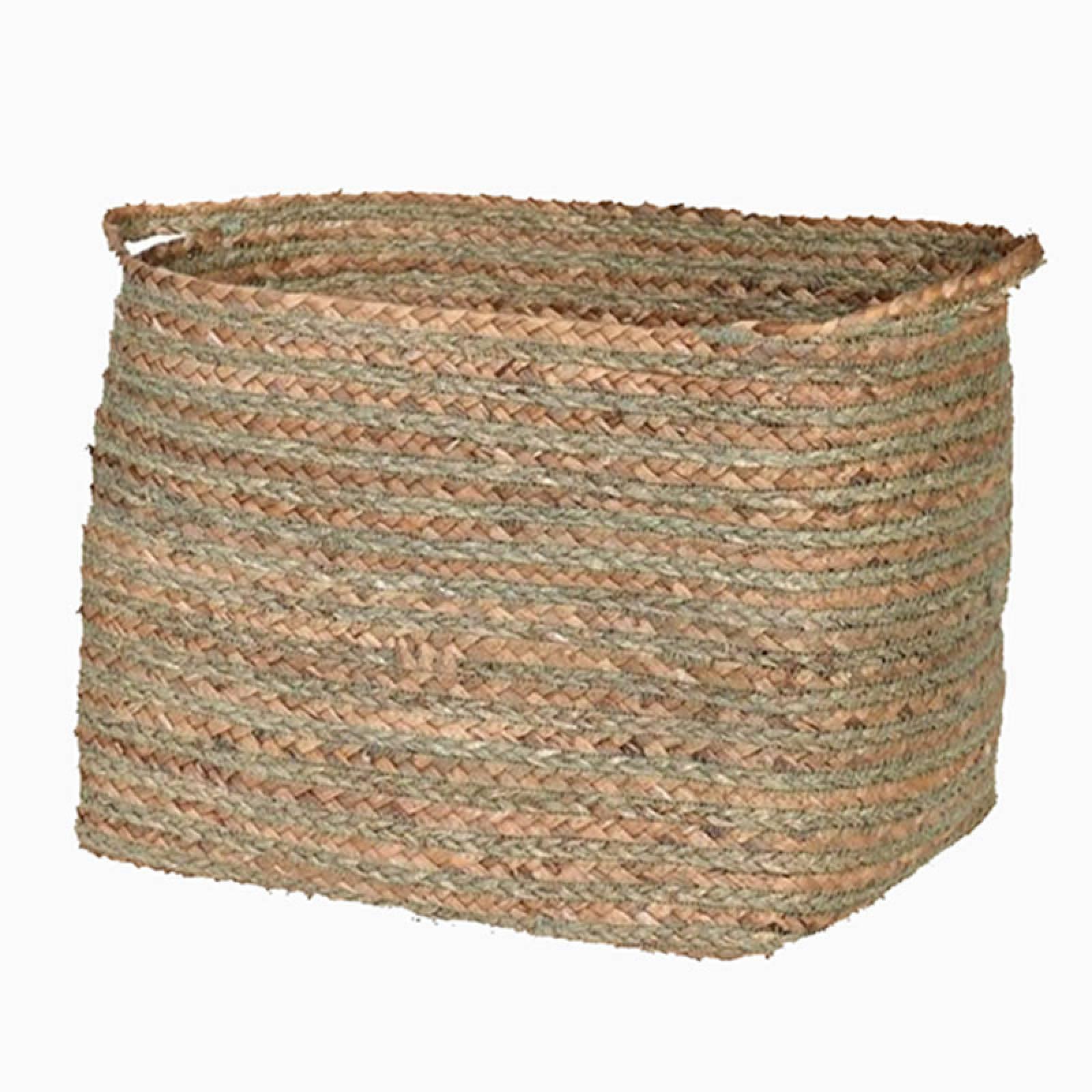 Rectangular Basket With Handles