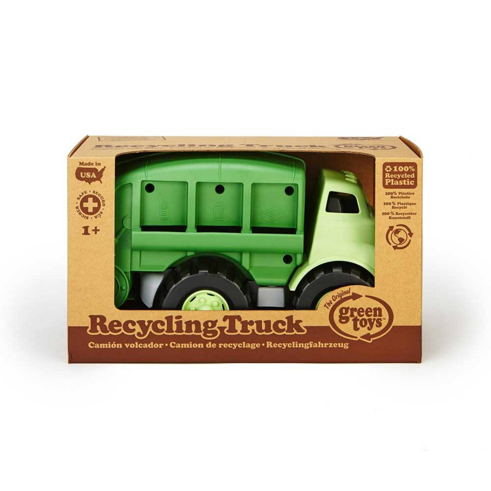 Recycling Dustbin Truck - Green Toys Recycled Plastic 3+ thumbnails