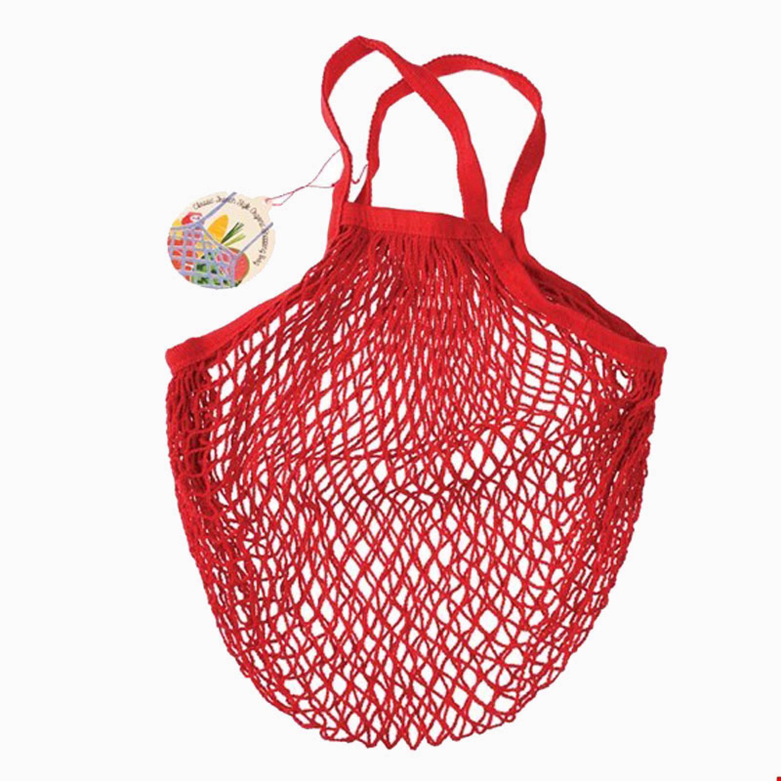 Red String Shopping Bag