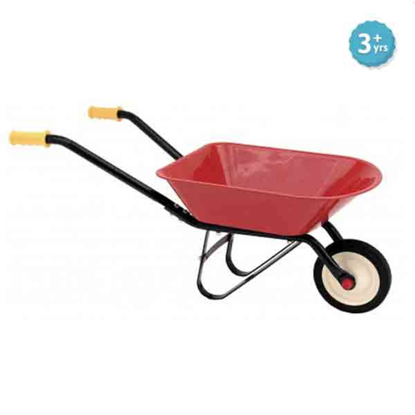 Classic Red Wheelbarrow 3yr+