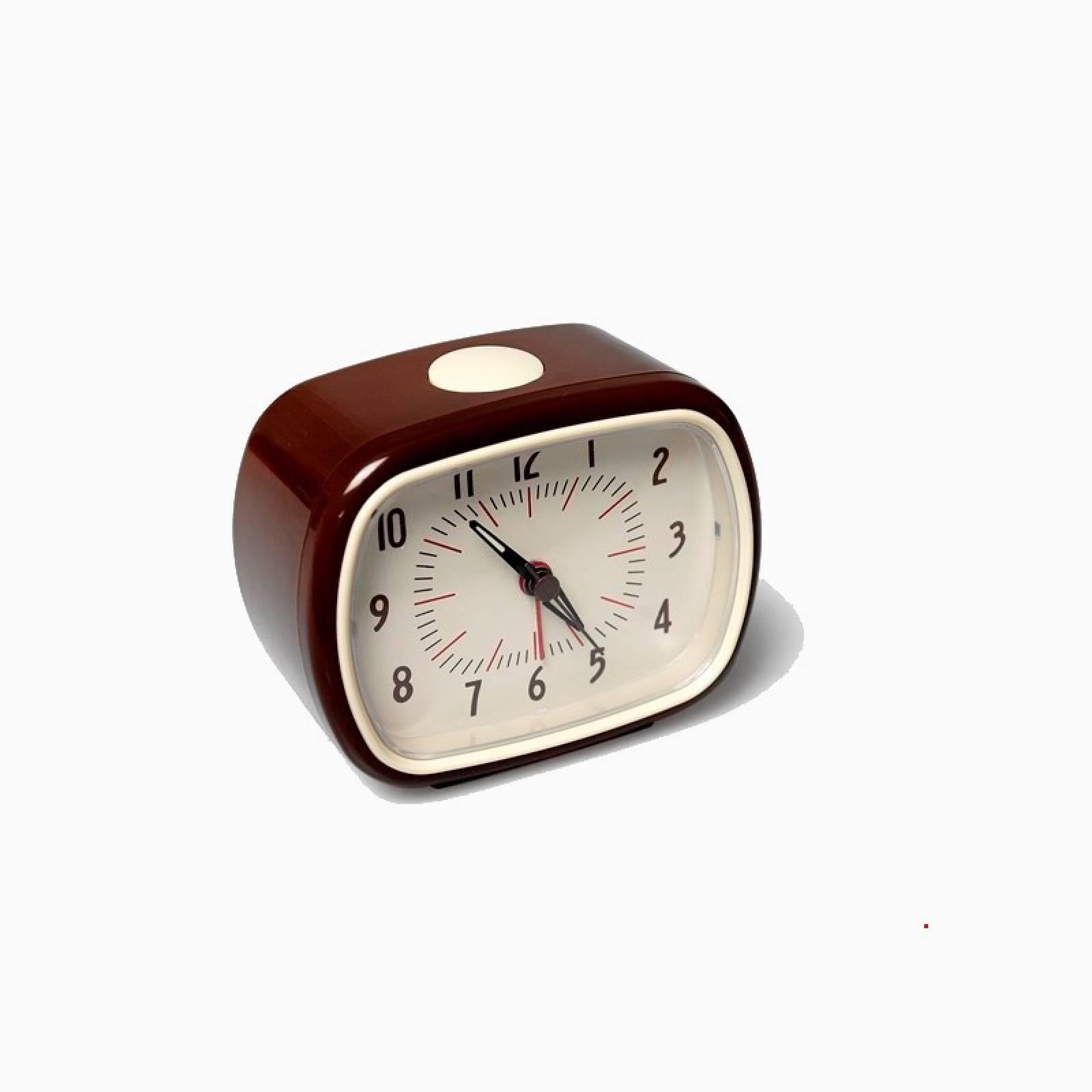 Retro Alarm Clock - Brown