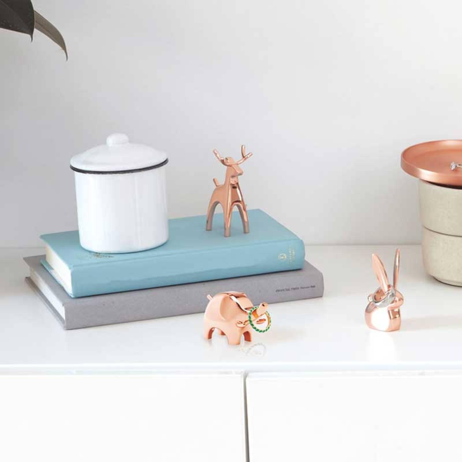 Anigram Reindeer Copper Ring Holder/ Decoration thumbnails