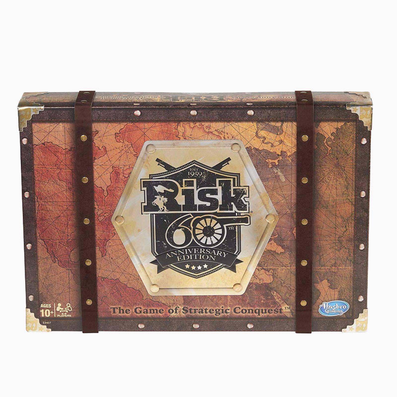 Risk: 60th Anniversary Edition Board Game 10+