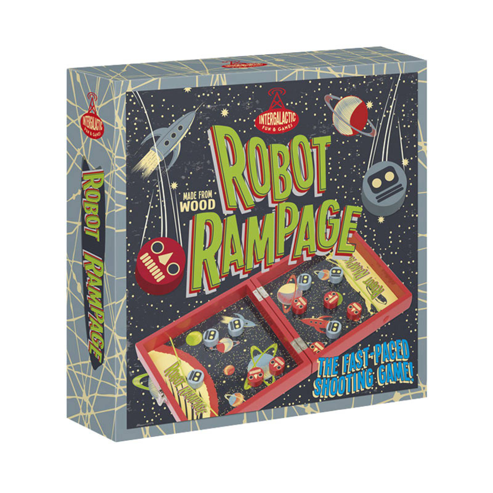 Robot Rampage - Wooden Tabletop Game thumbnails