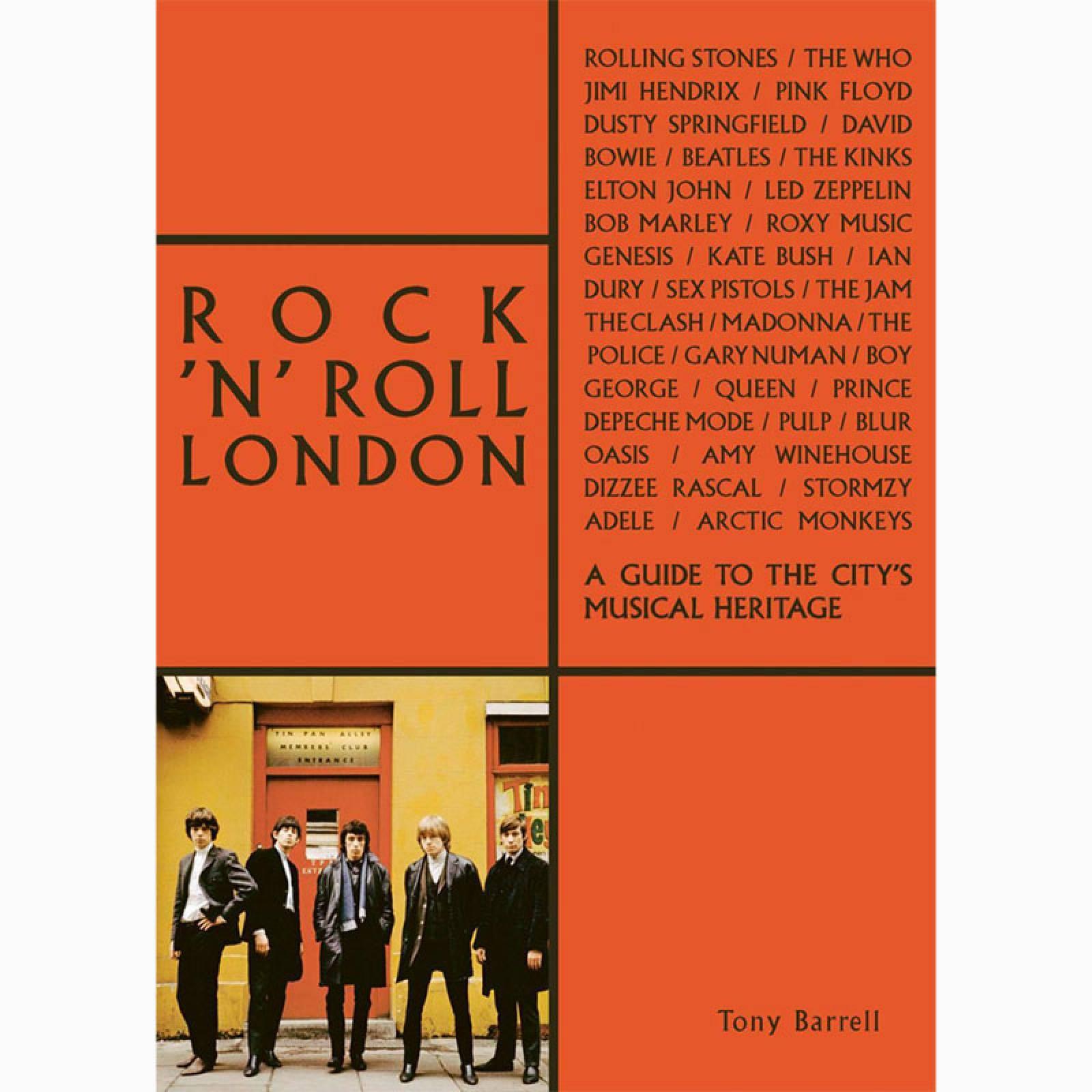 Rock 'n' Roll London - Paperback Book