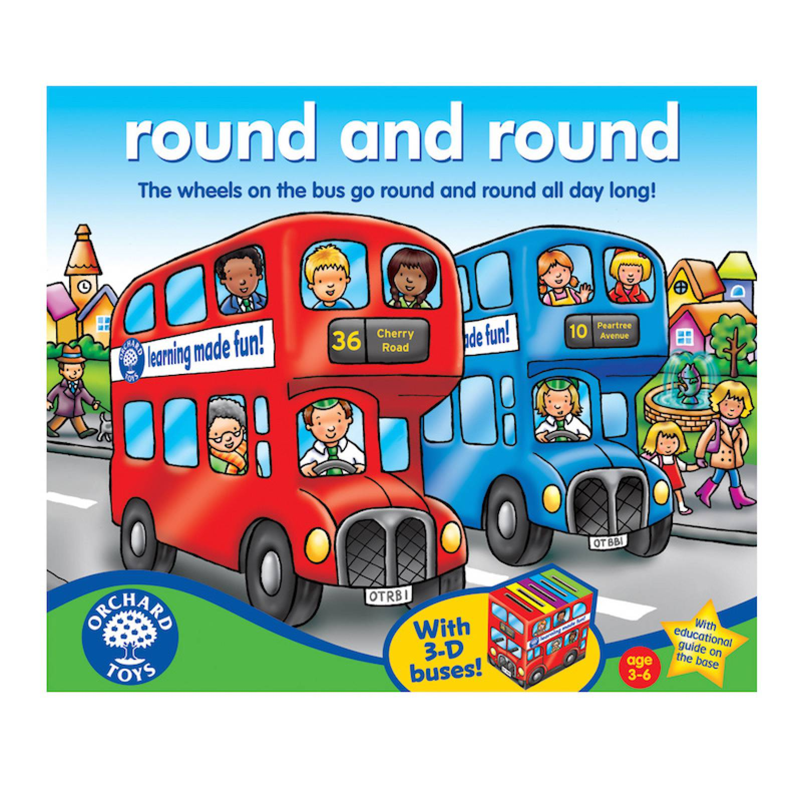 Round And Round Game by Orchard 3+