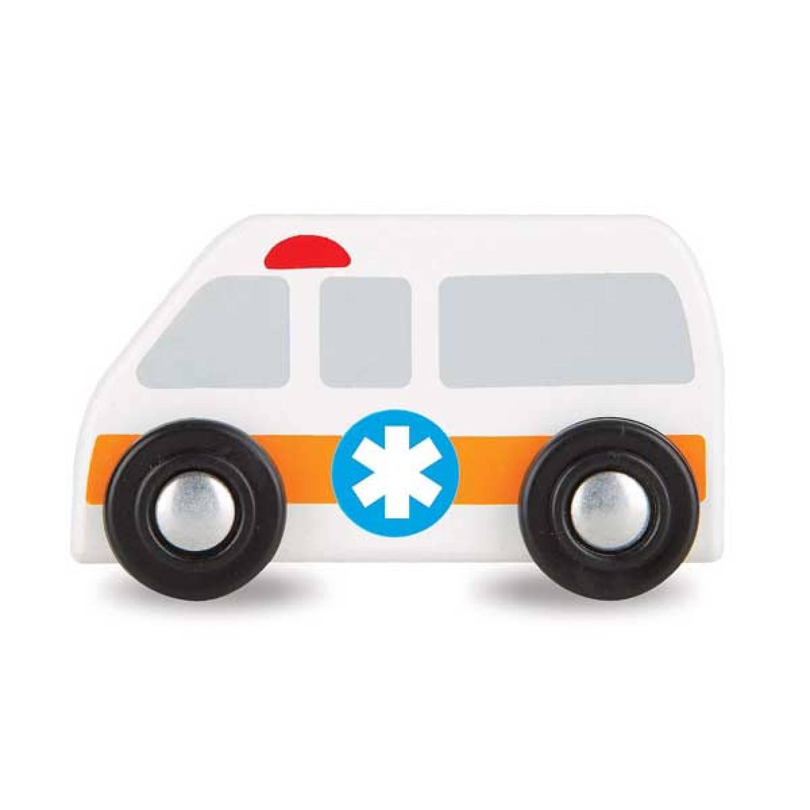 Round The City Rescue Rug & Vehicle Set Melissa & Doug thumbnails