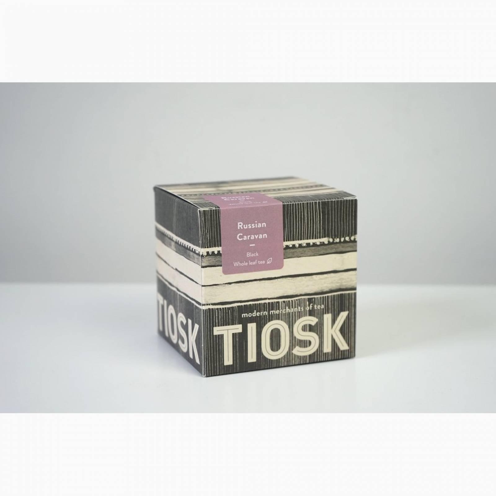 Tiosk Russian Caravan Loose Leaf Black Tea 100g