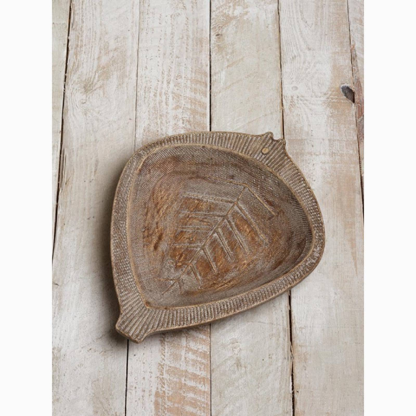 Rustic Wooden Carved Fish Shaped Platter thumbnails