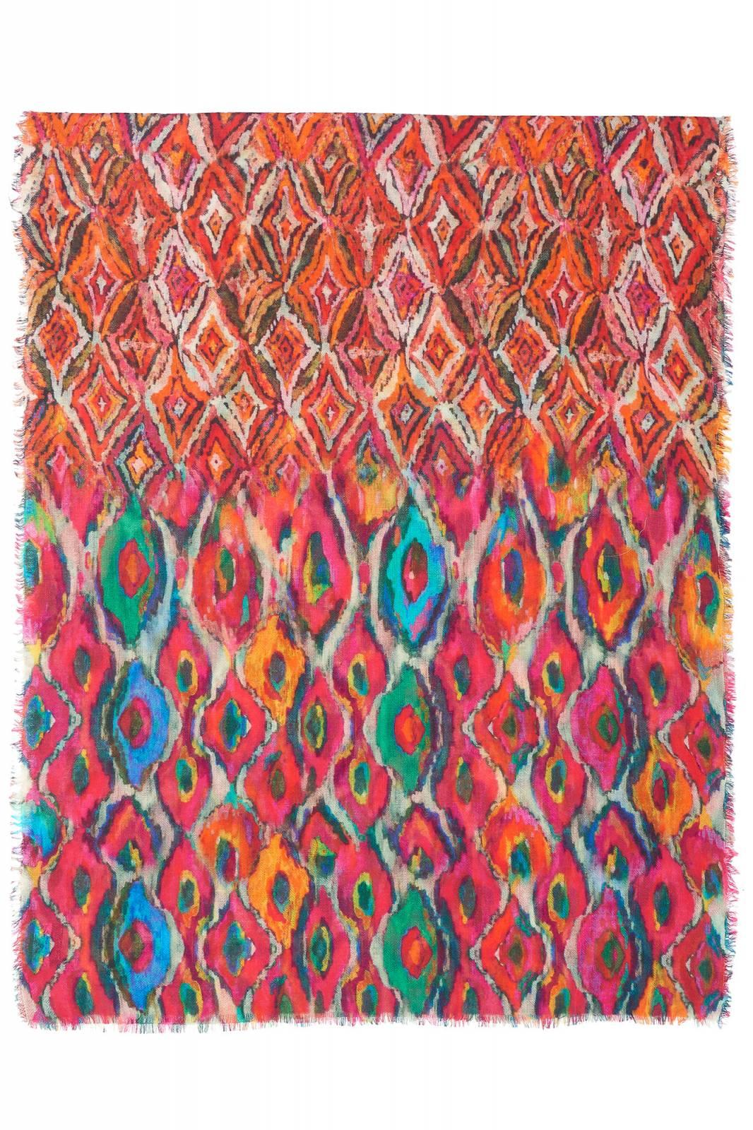 Moulin Rouge Wool Scarf By Jo Edwards