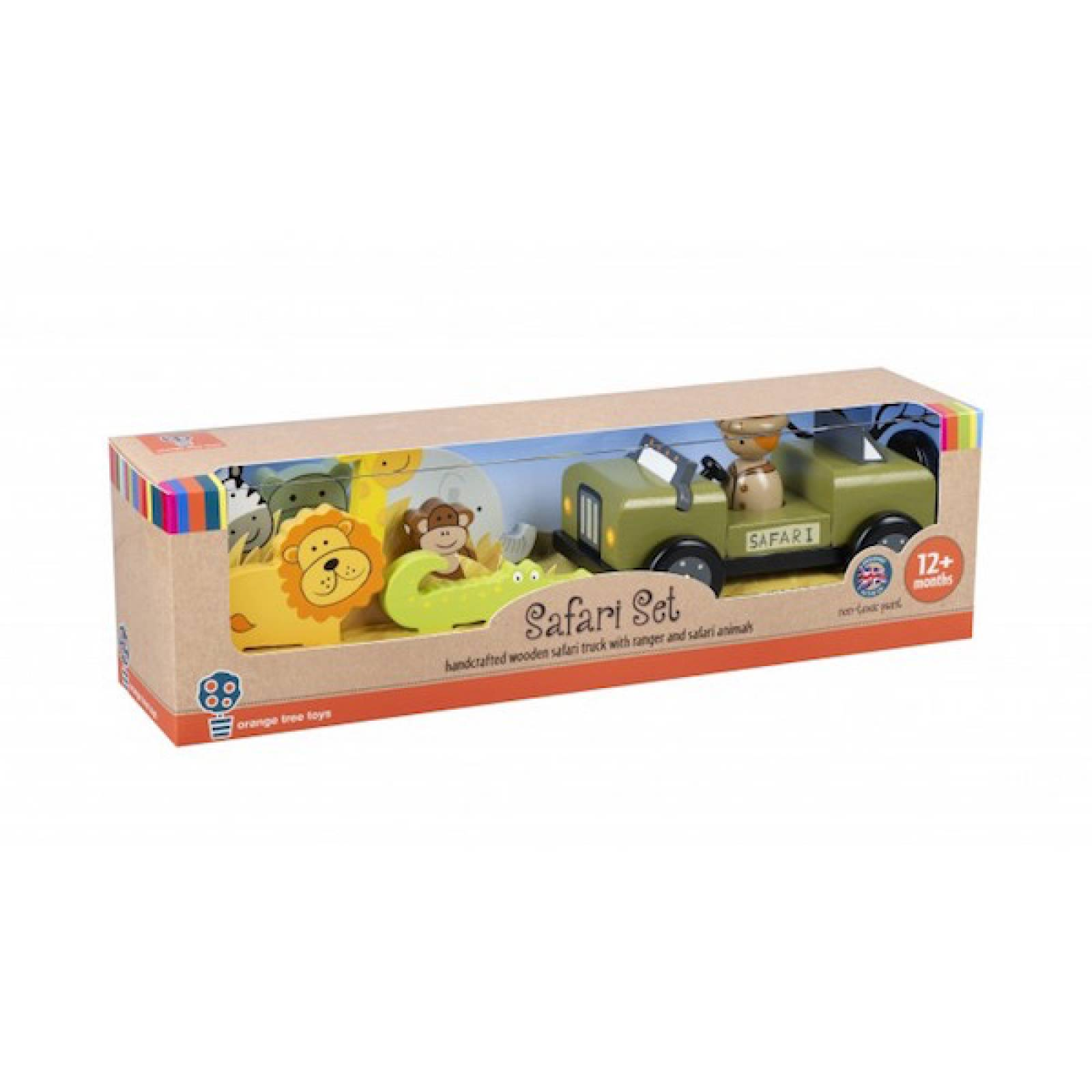 Safari Wooden Play Set With Figures thumbnails