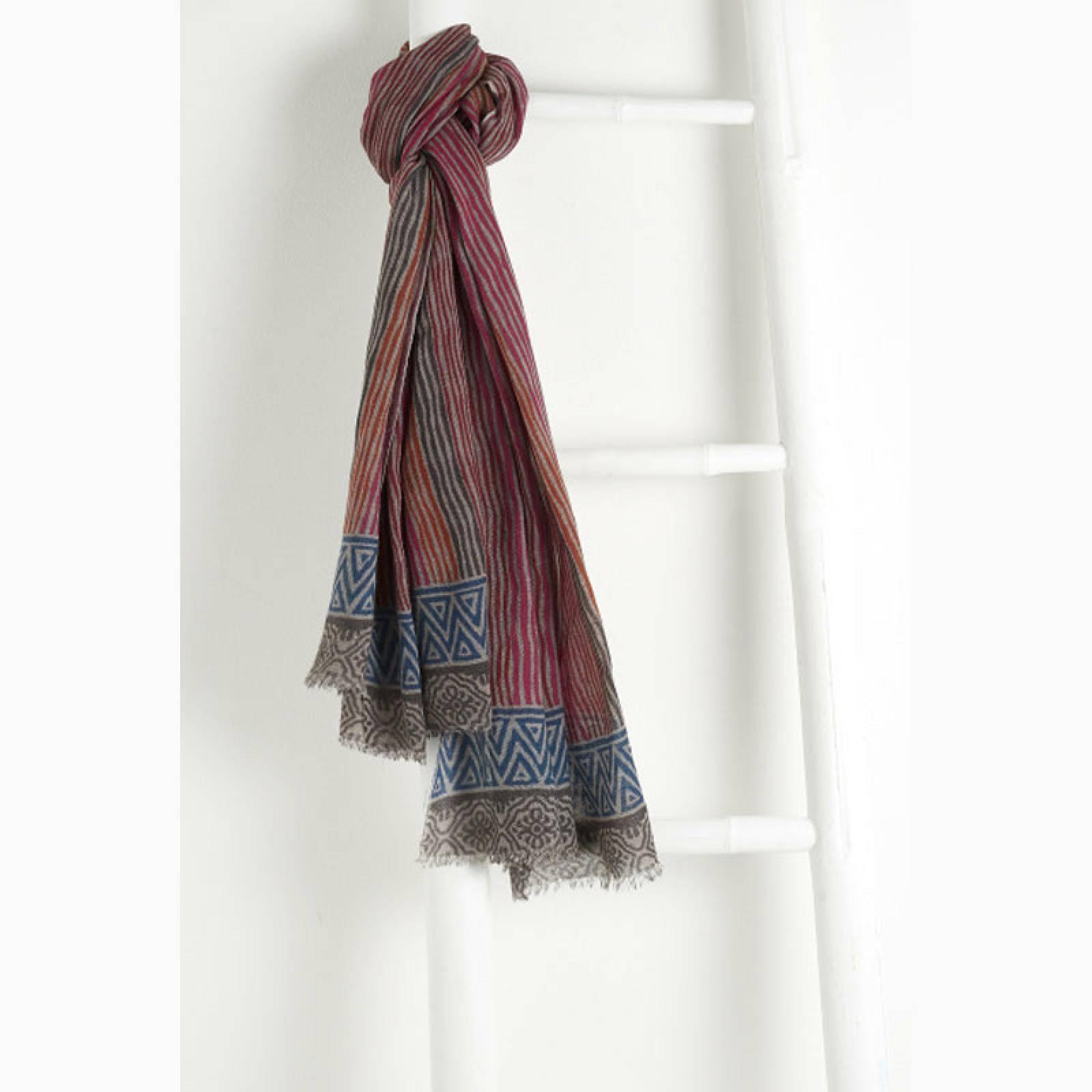 Saint Malo Wool Scarf By Jo Edwards