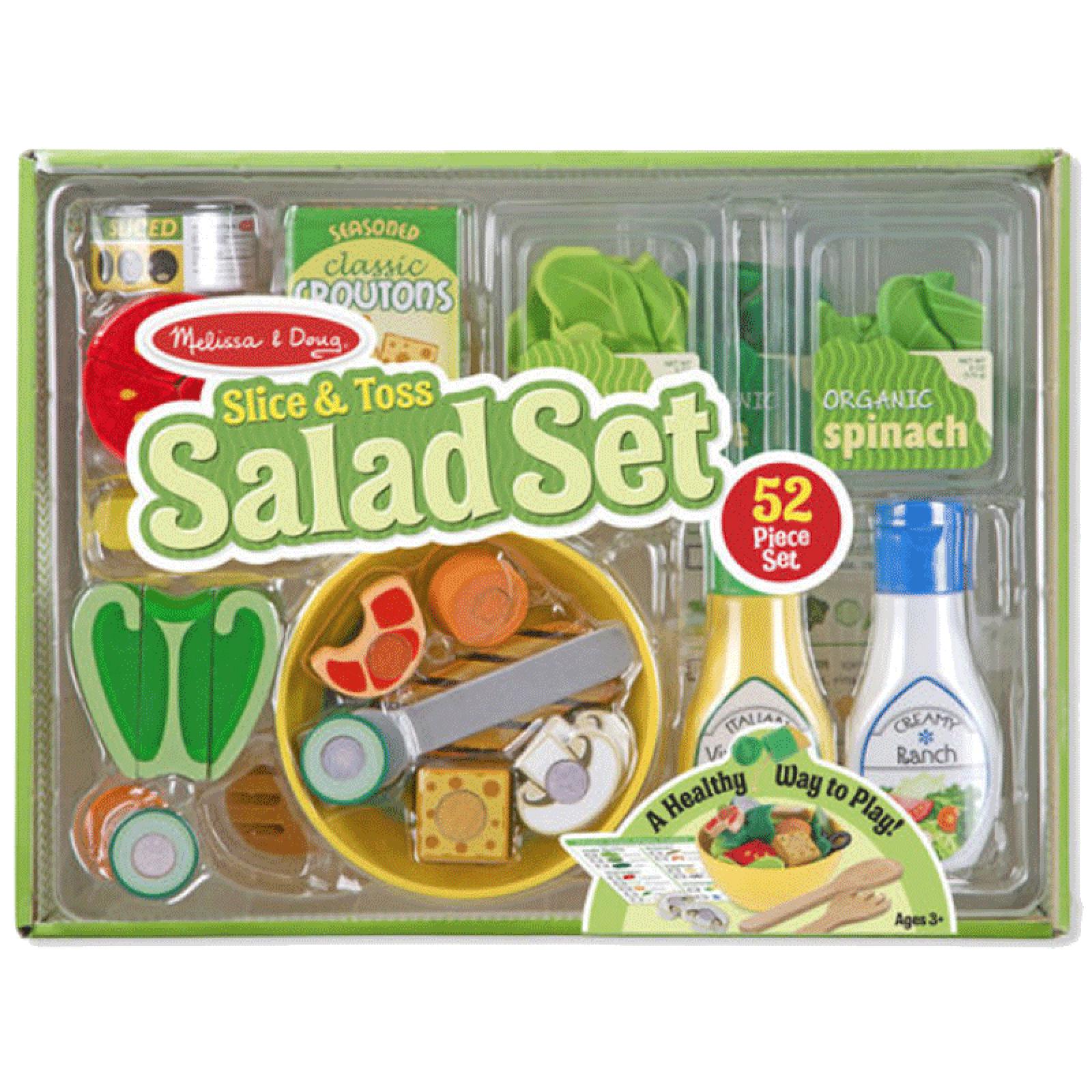 Salad Set Slice And Toss Melissa & Doug
