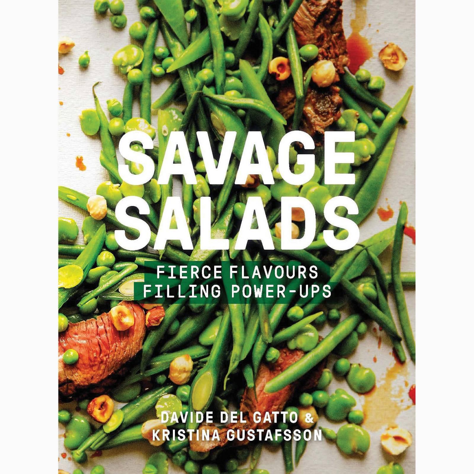 Savage Salads - Hardback Book