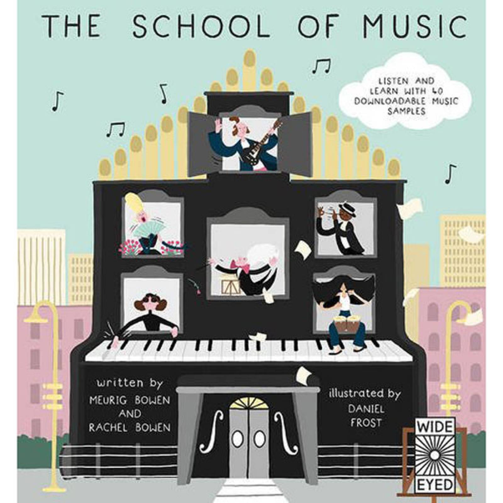 The School Of Music Hardback Book thumbnails