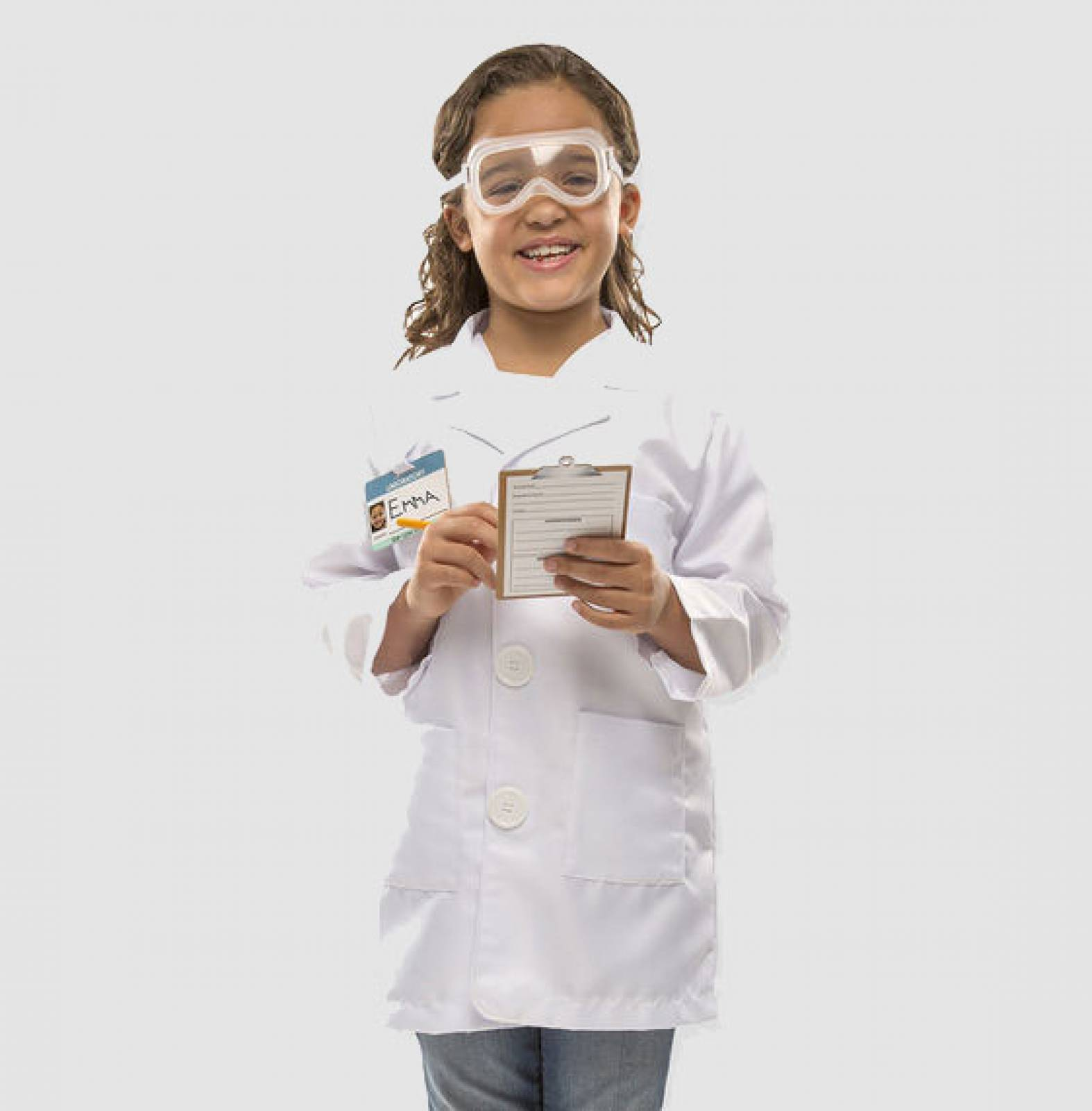 Fancy Dress Role Play Costume Set - Scientist
