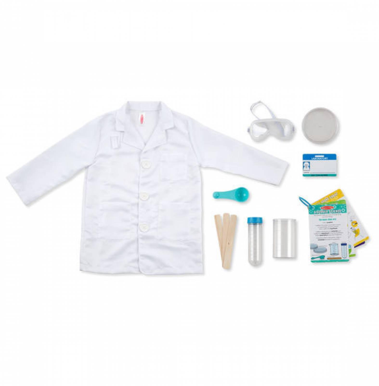 Fancy Dress Role Play Costume Set - Scientist thumbnails