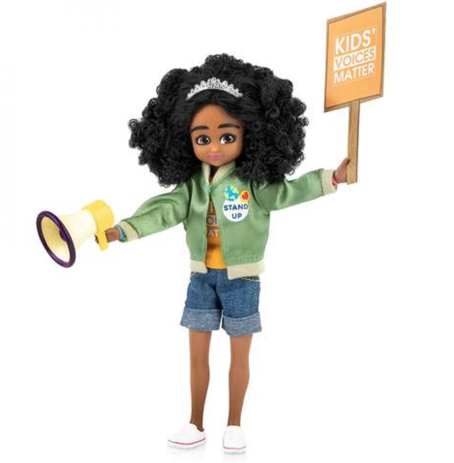 Kid Activist Lottie Doll 3yr +