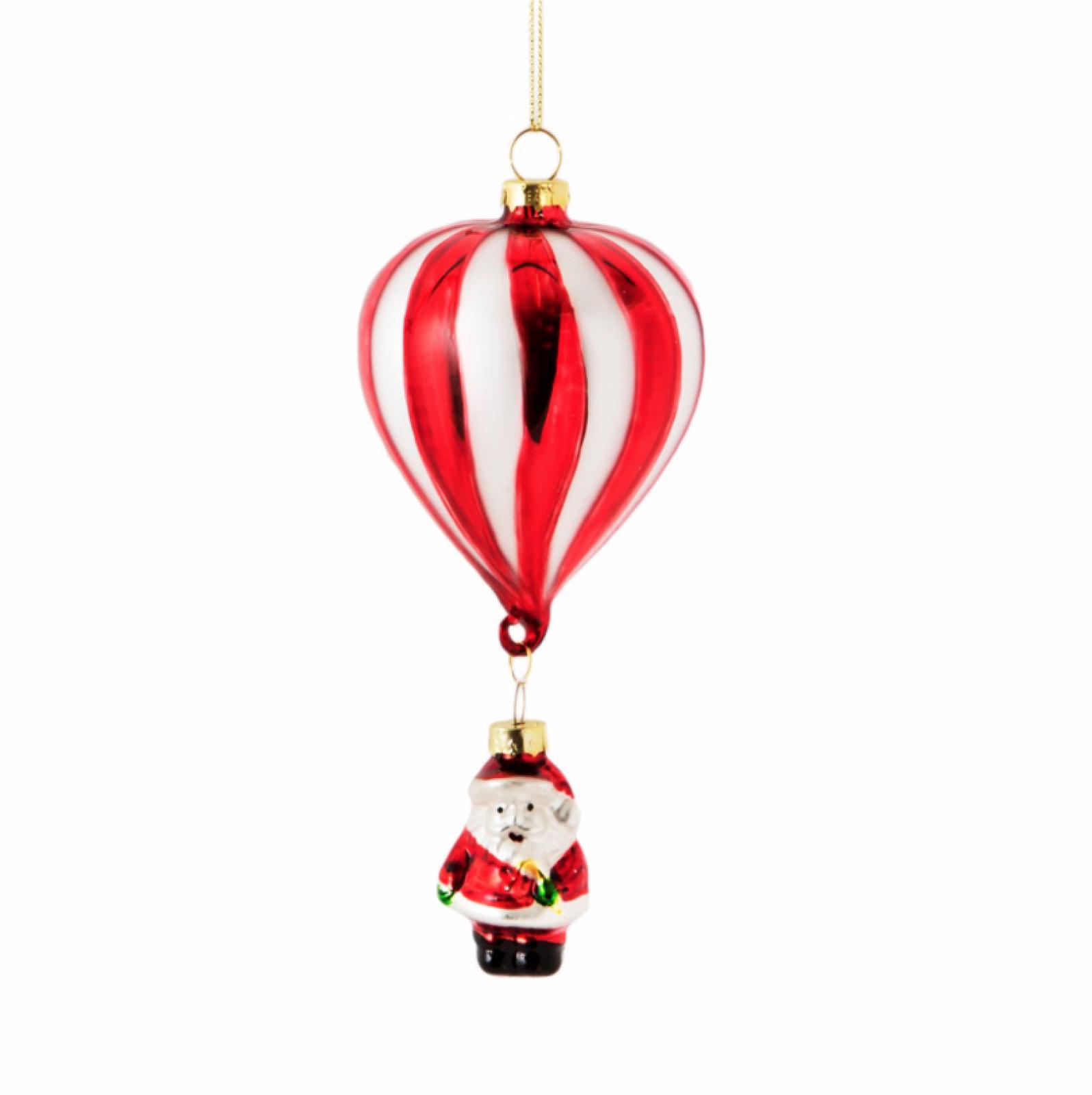 Santa Hot Air Balloon Decoration