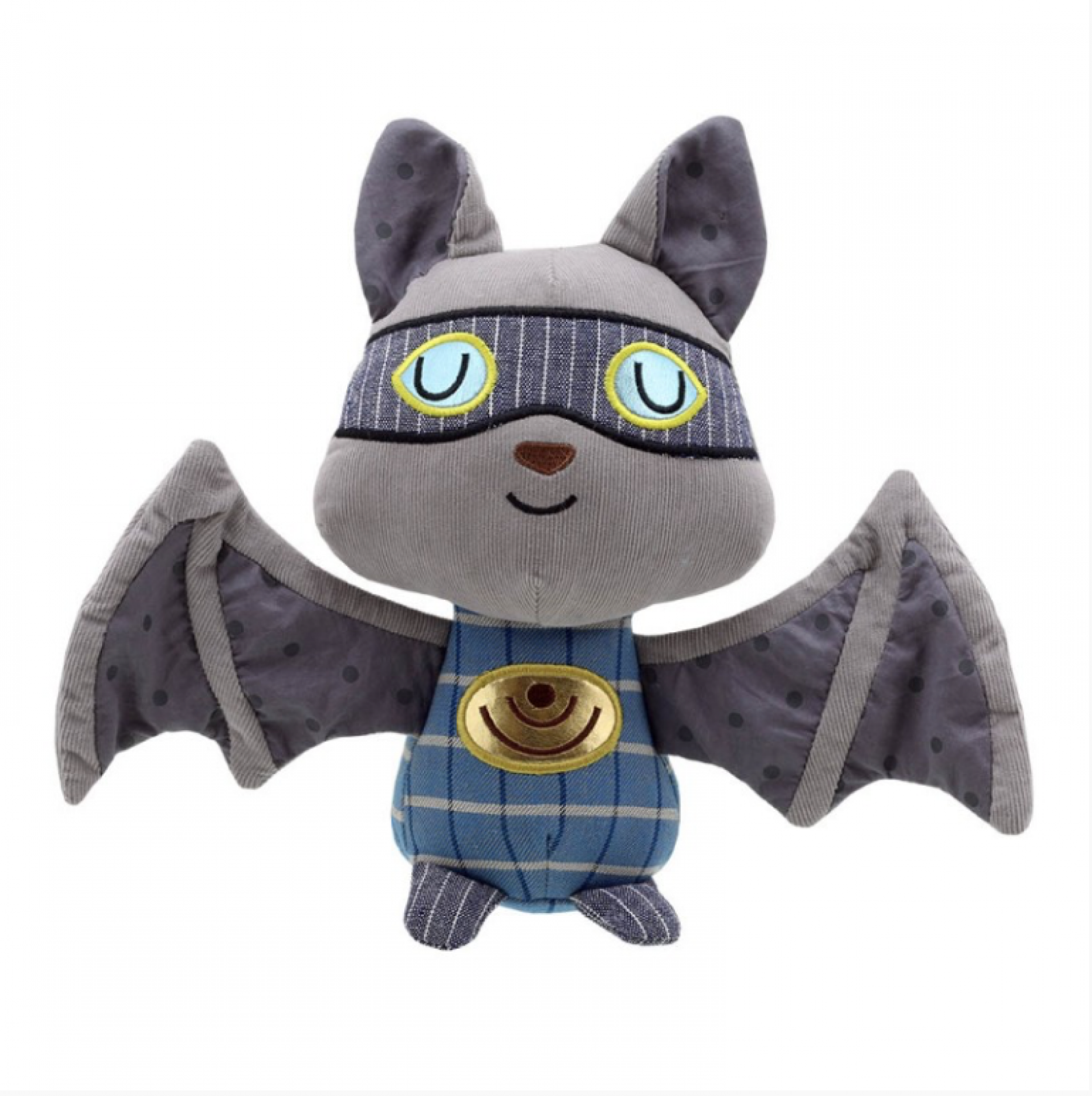 Wilberry Super Hero Bat Soft Toy